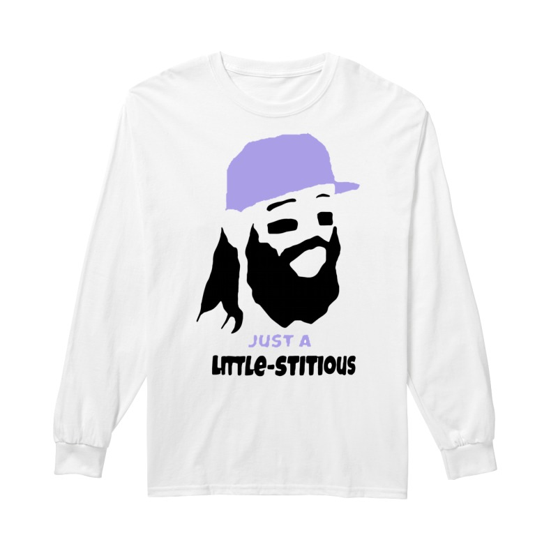 Charlie Blackmon just a little-stitious long sleeve
