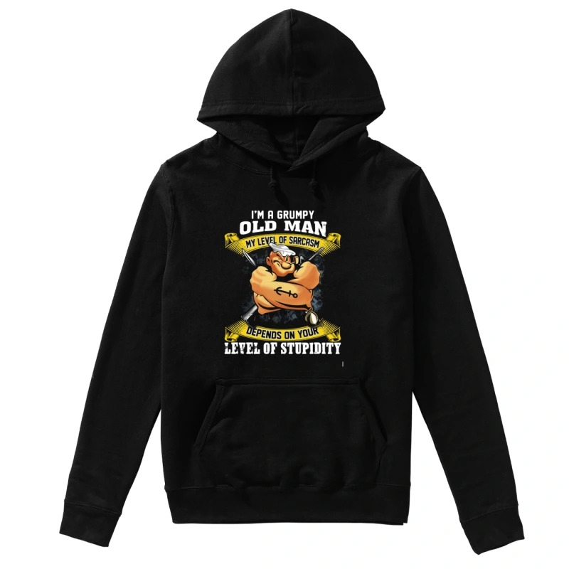 I am a grumpy navy veteran my oath of enlistment has no expiration date hoodie