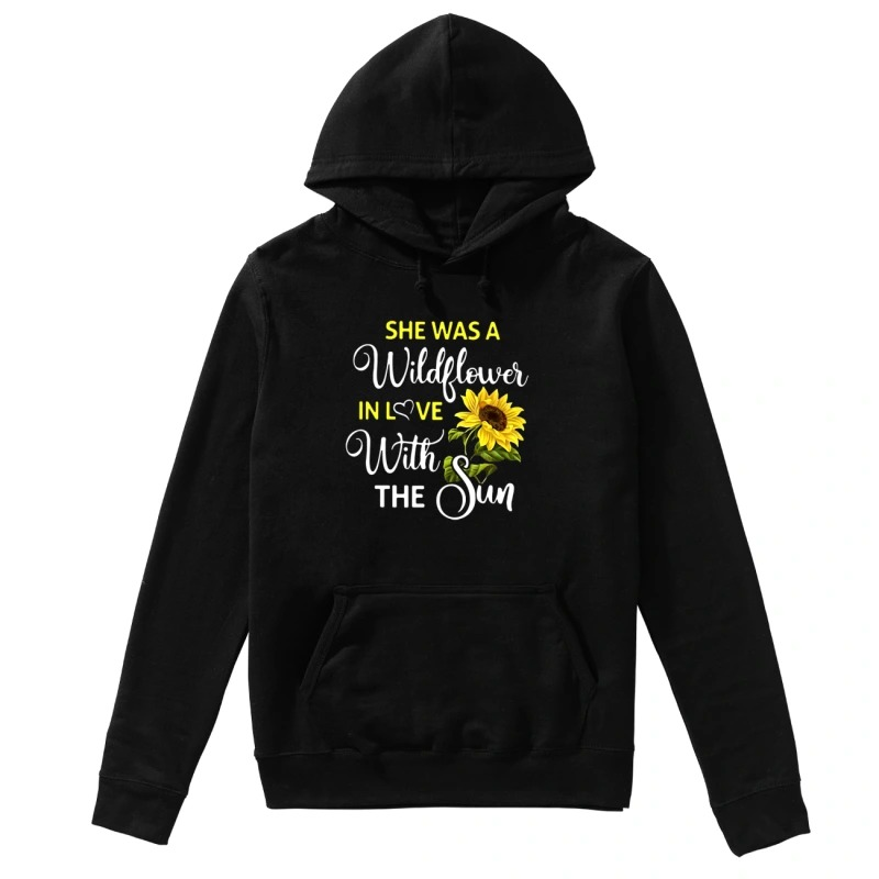 Melanie Koulouris she was a wildflower in love with the sun hoodie