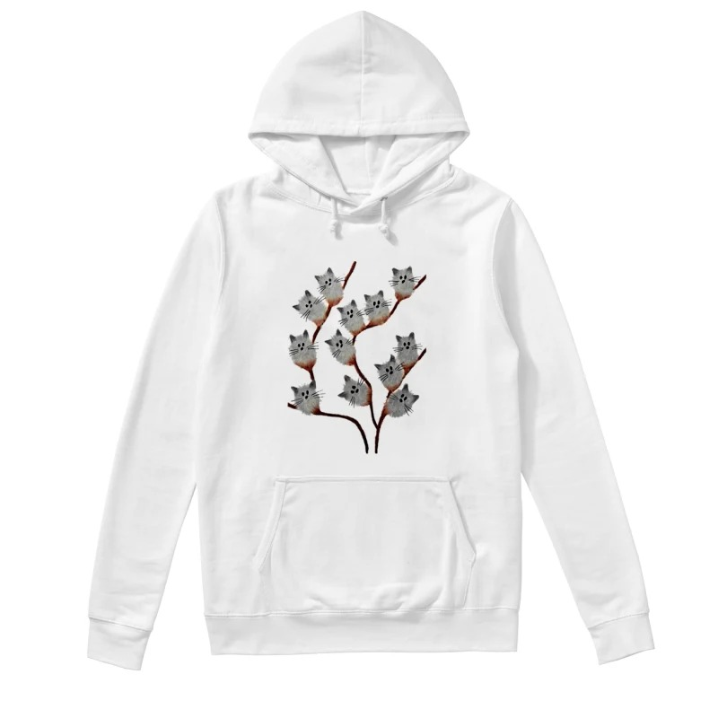 Official Cats on tree hoodie