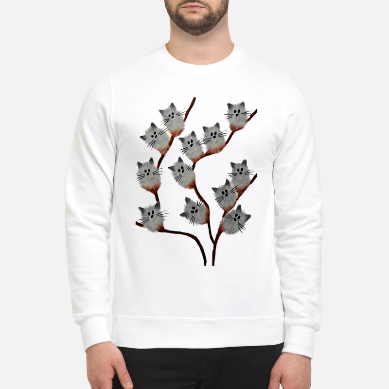Official Cats on tree sweatshirt