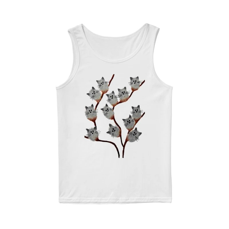 Official Cats on tree tank top