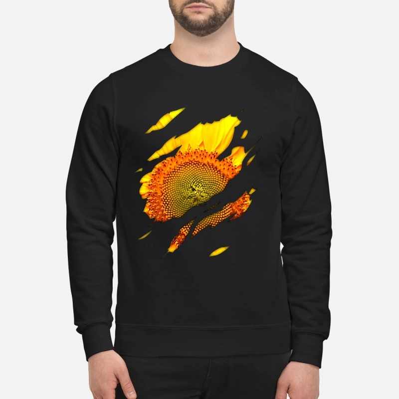 Official sunflower macro sweatshirt