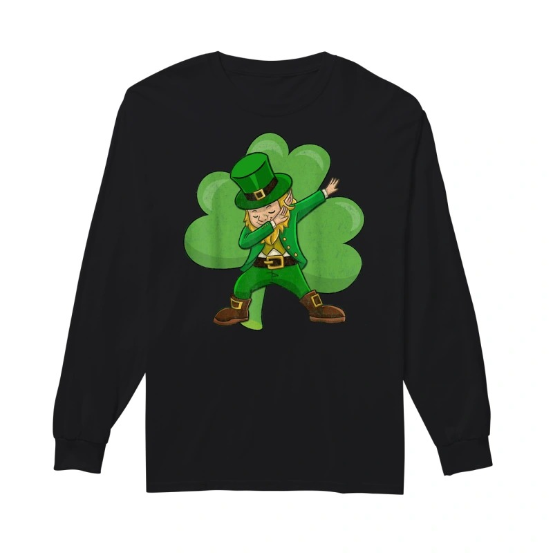 St Patricks Day Men Boys Kids long sleeve