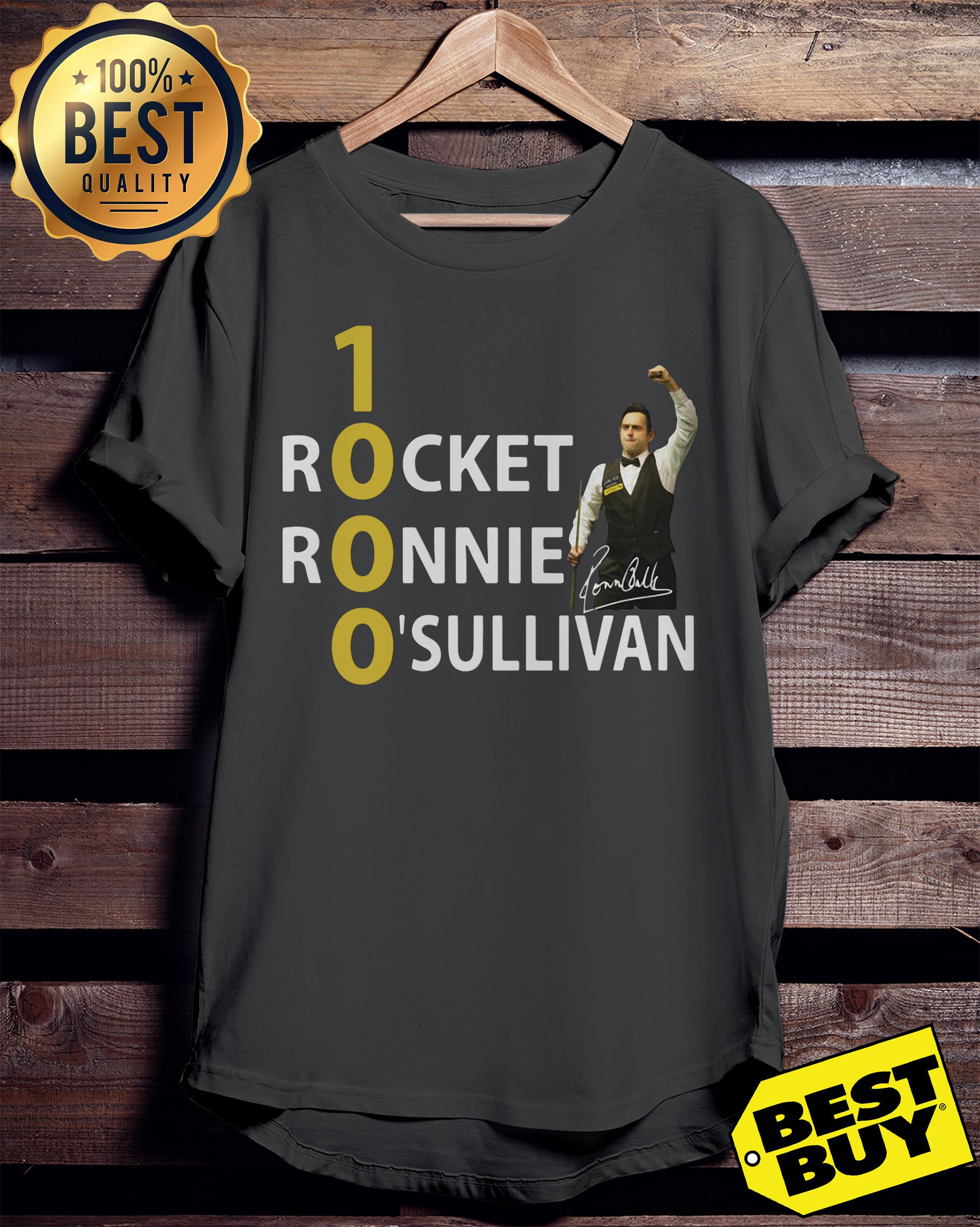 1000 Rocket Ronnie O'Sullivan funny ladies tee