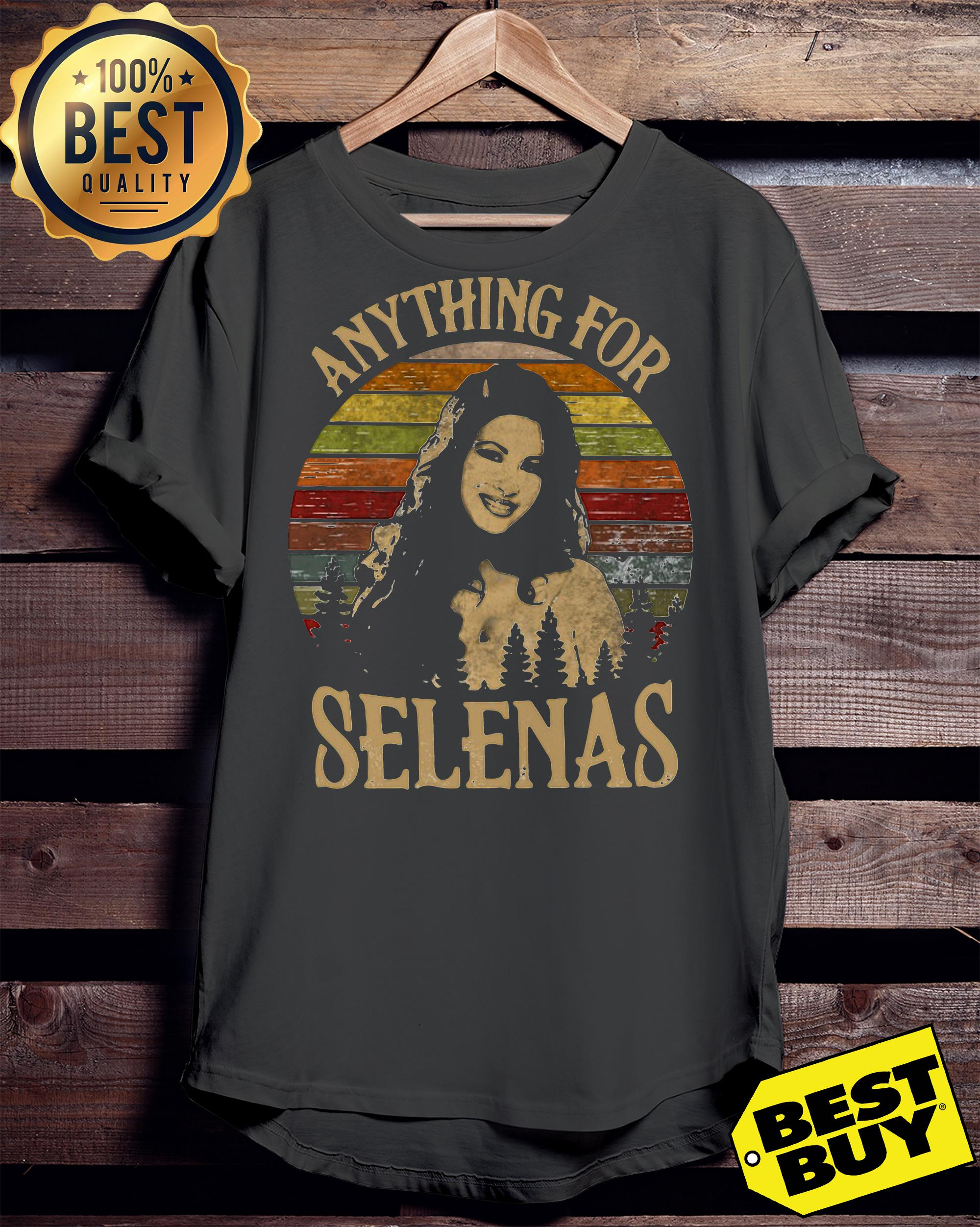 Anything For Selena's funny ladies tee