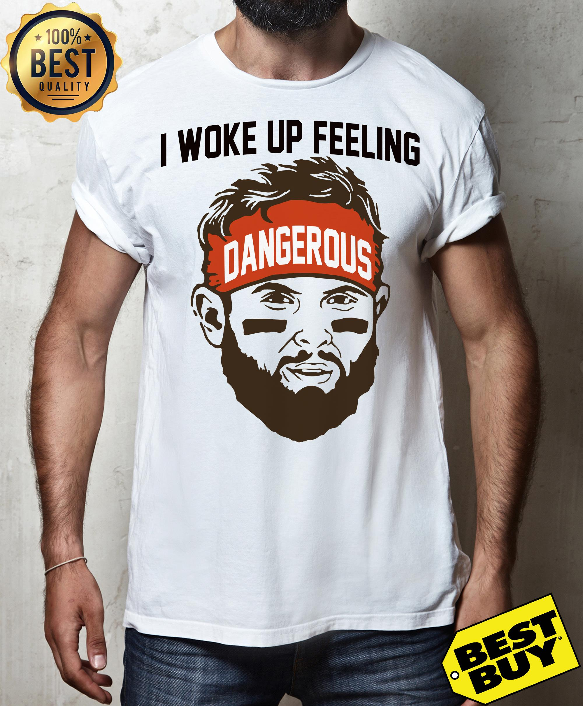 Baker Mayfield -I woke up feeling Dangerous tank top
