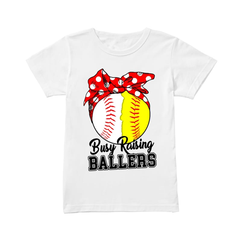 Baseball Busy raising ballers shirt