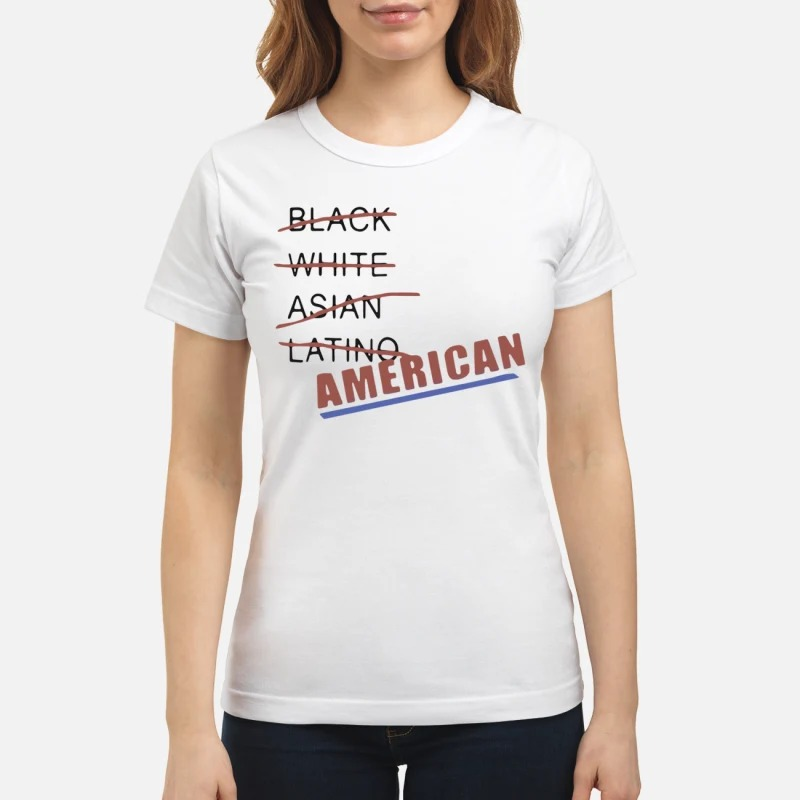 Black white Asian latino American classic womens