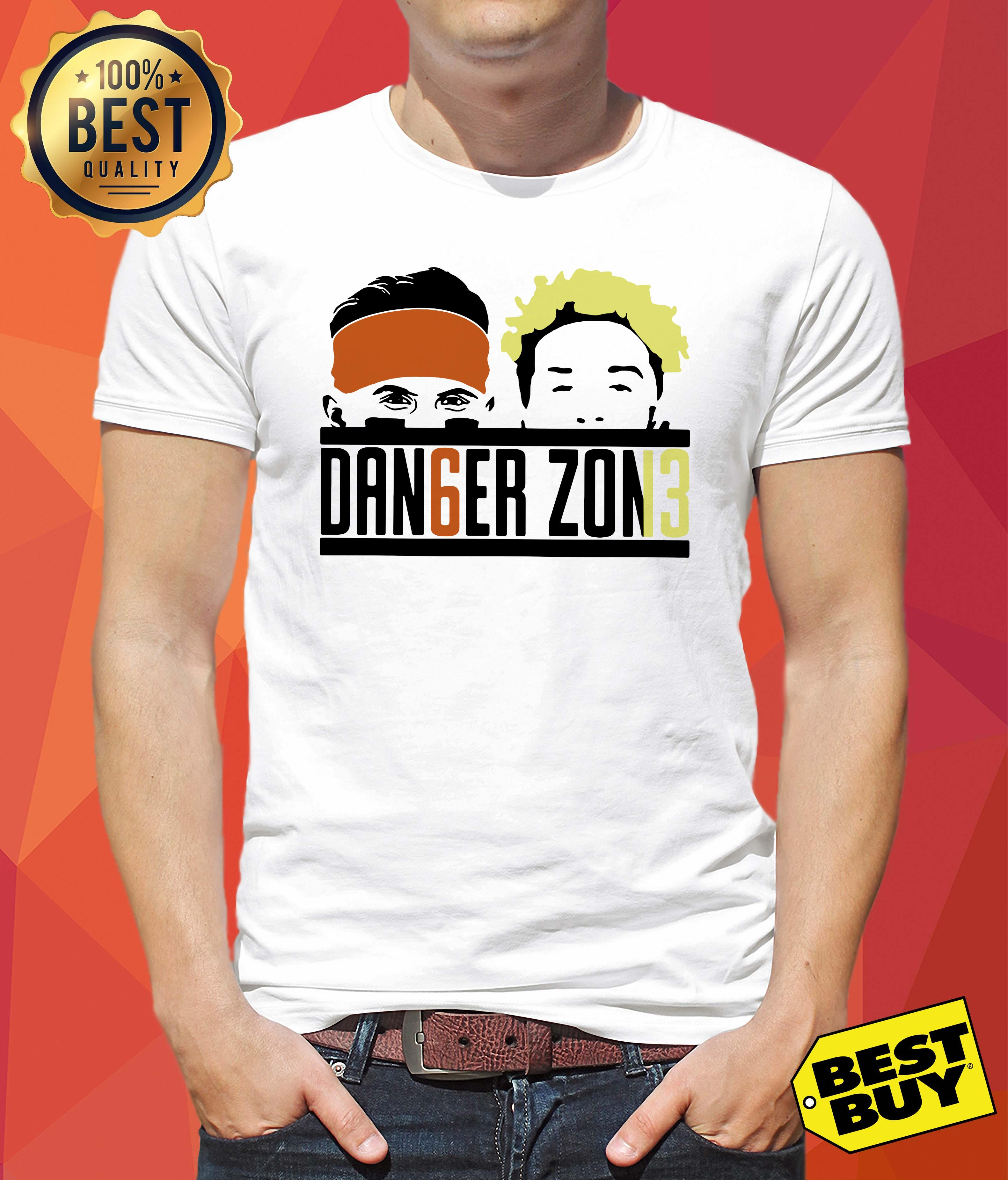 Cleveland Browns Odell Beckham Jr Baker Mayfield danger zone shirt