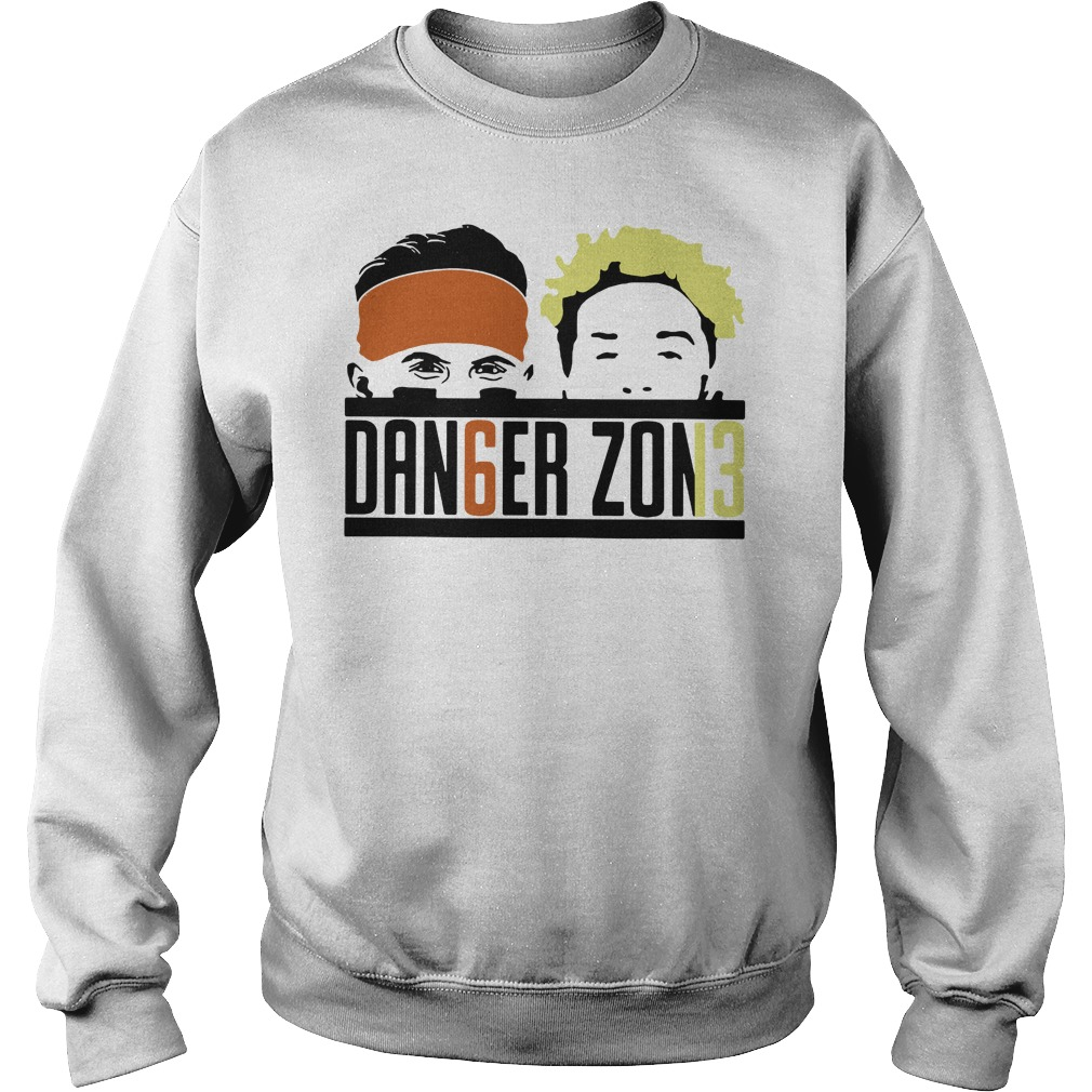 Cleveland Browns Odell Beckham Jr Baker Mayfield danger zone sweatshirt