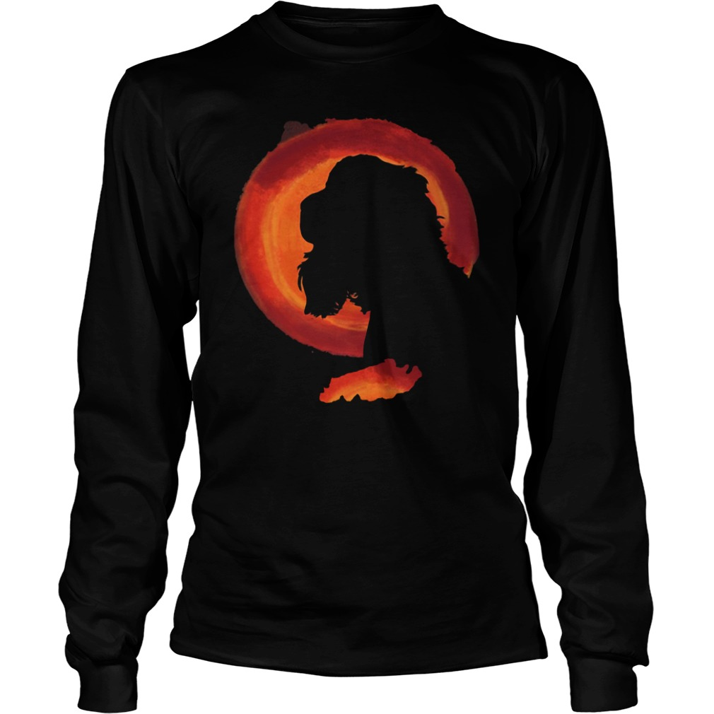 Cocker spaniel moon long sleeve