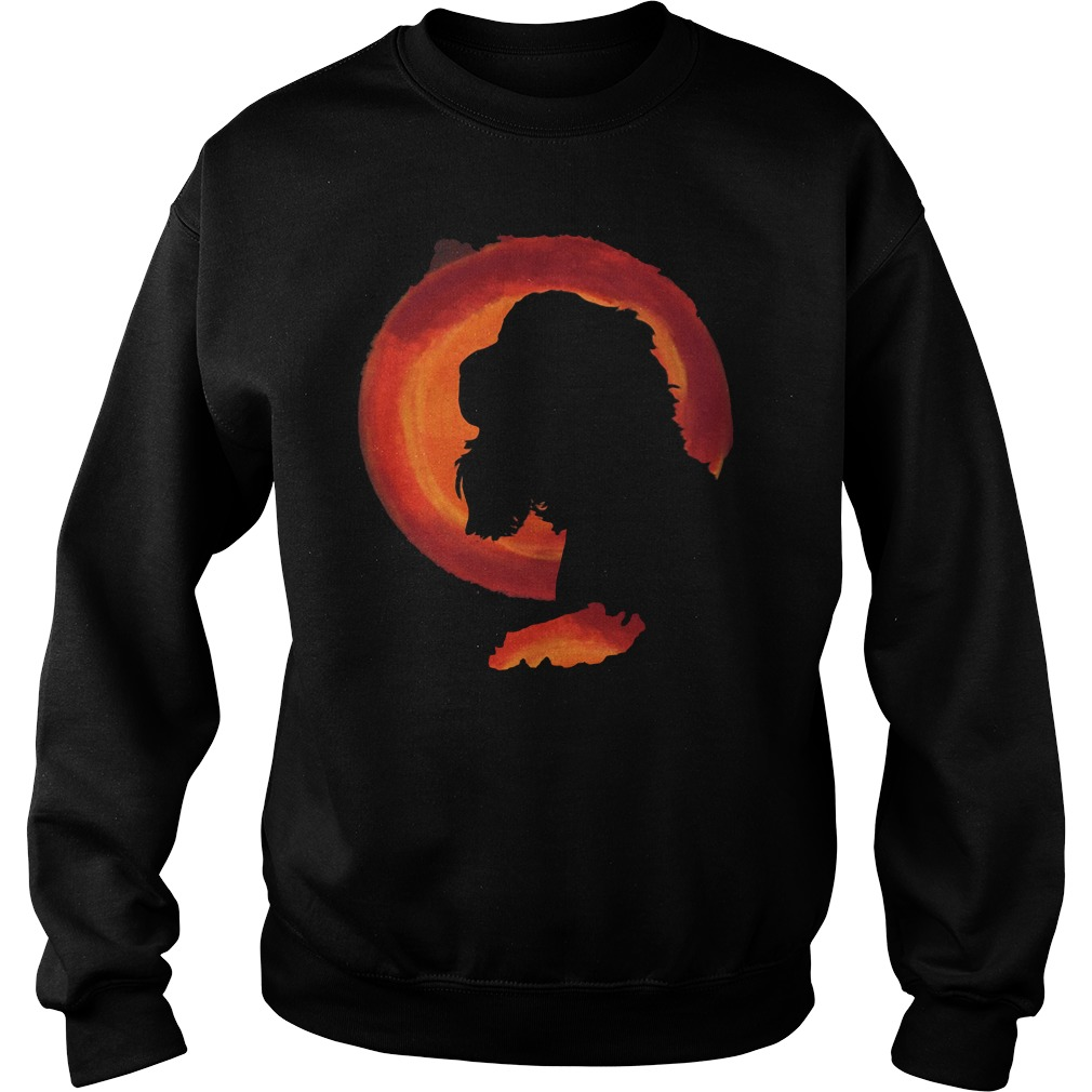 Cocker spaniel moon sweatshirt