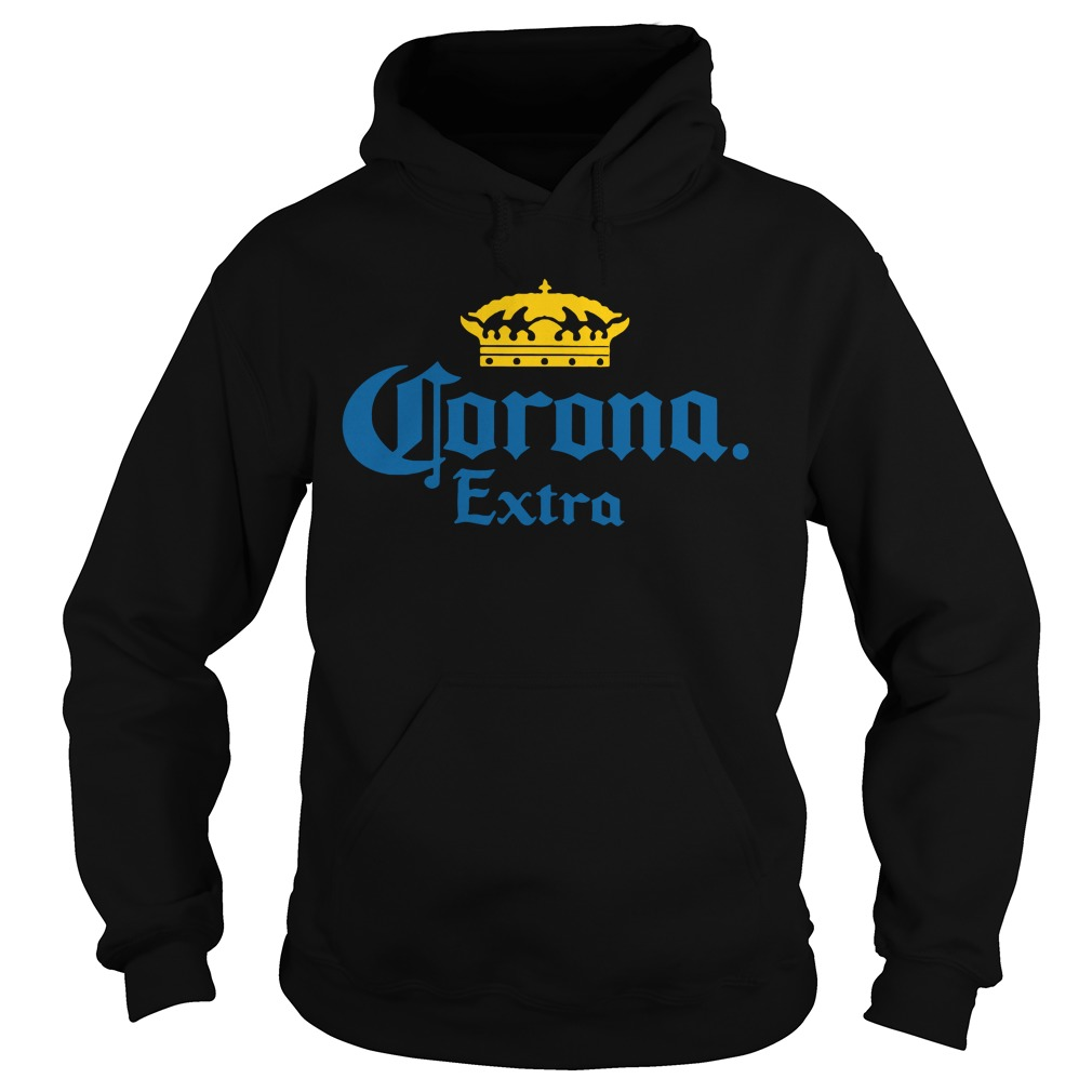 Corona Extra Men's Beer Crown Logo hoodie