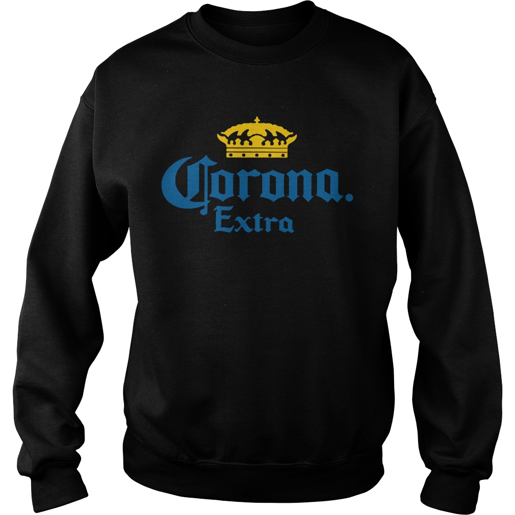 Corona Extra Men's Beer Crown Logo sweatshirt