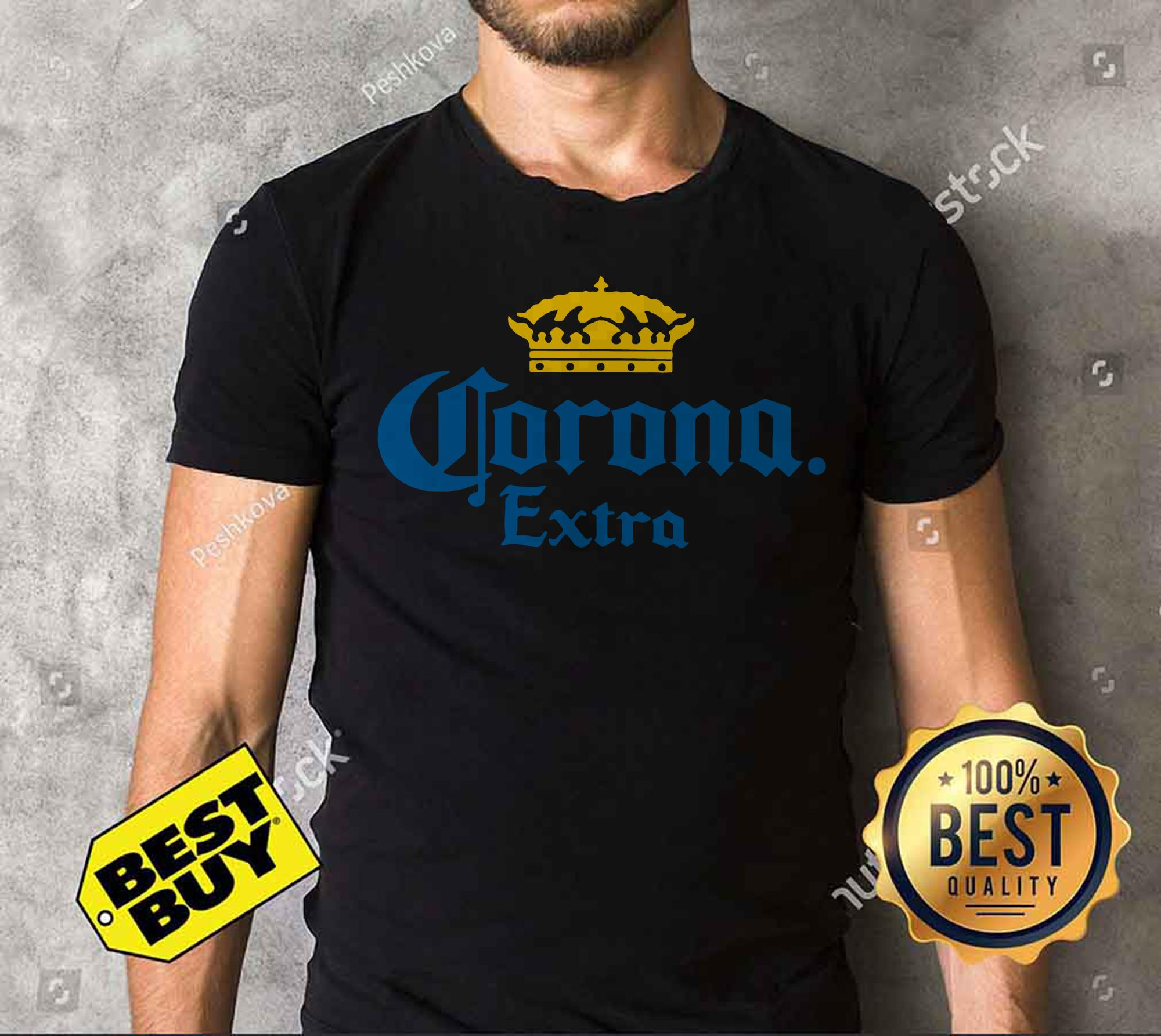 Corona Extra Men's Beer Crown Logo tank top