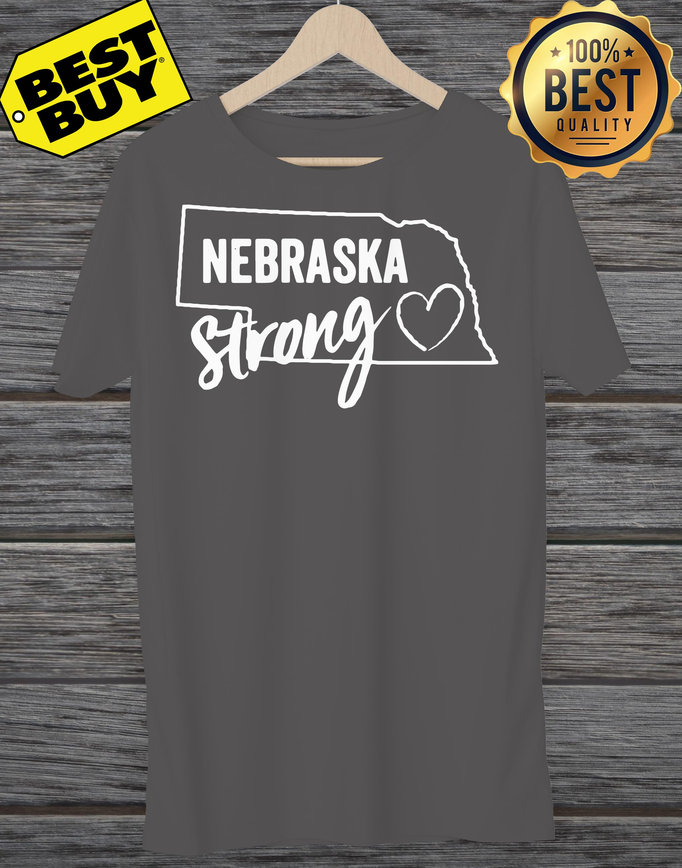 Flood relief Nebraska strong ladies tee