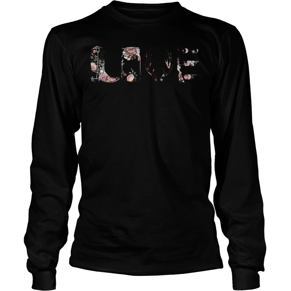 Flower Rose Love funny long sleeve