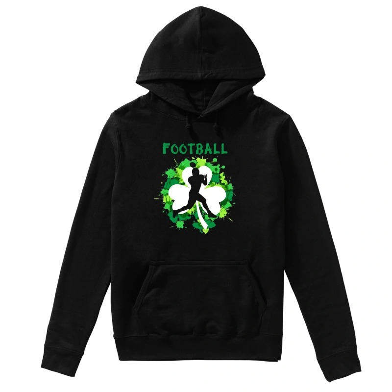 Football Shamrock Irish St Patty's Day Sport Shirt For Football Lover hoodie