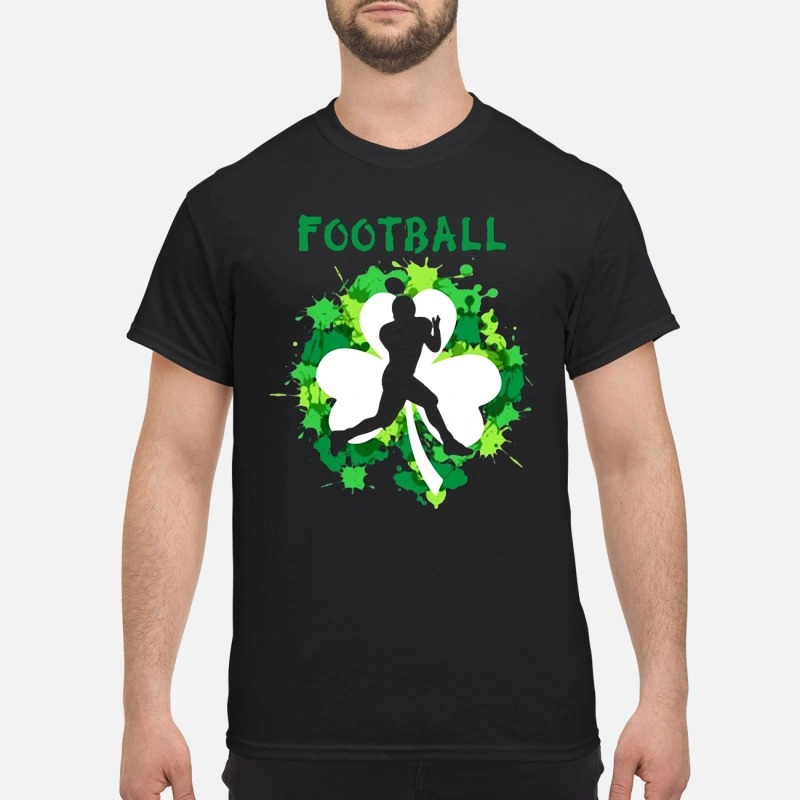 Football Shamrock Irish St Patty's Day Sport Shirt For Football Lover shirt
