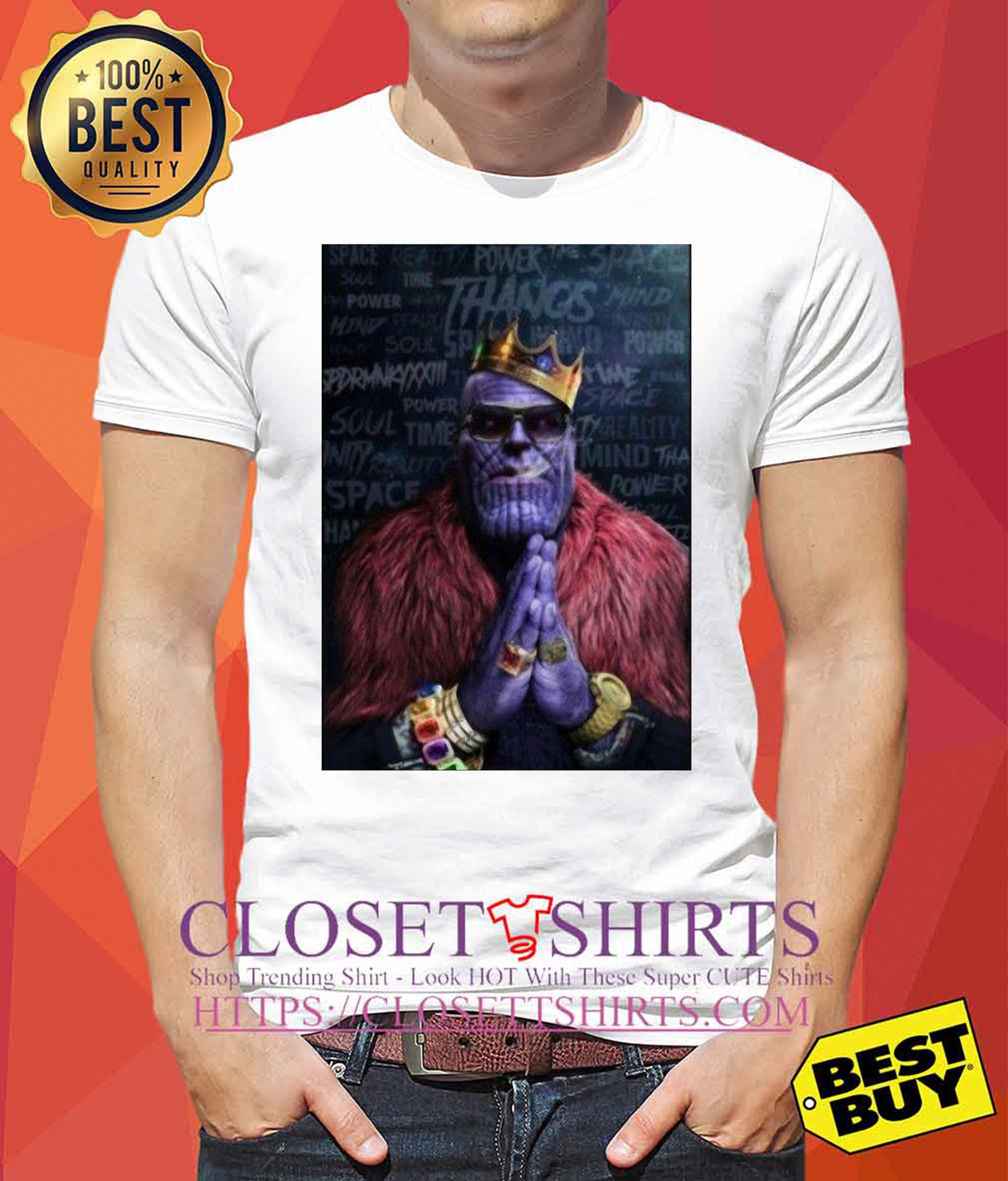 Infinity Was Thanos Avengers Rick Ross Parody tank top