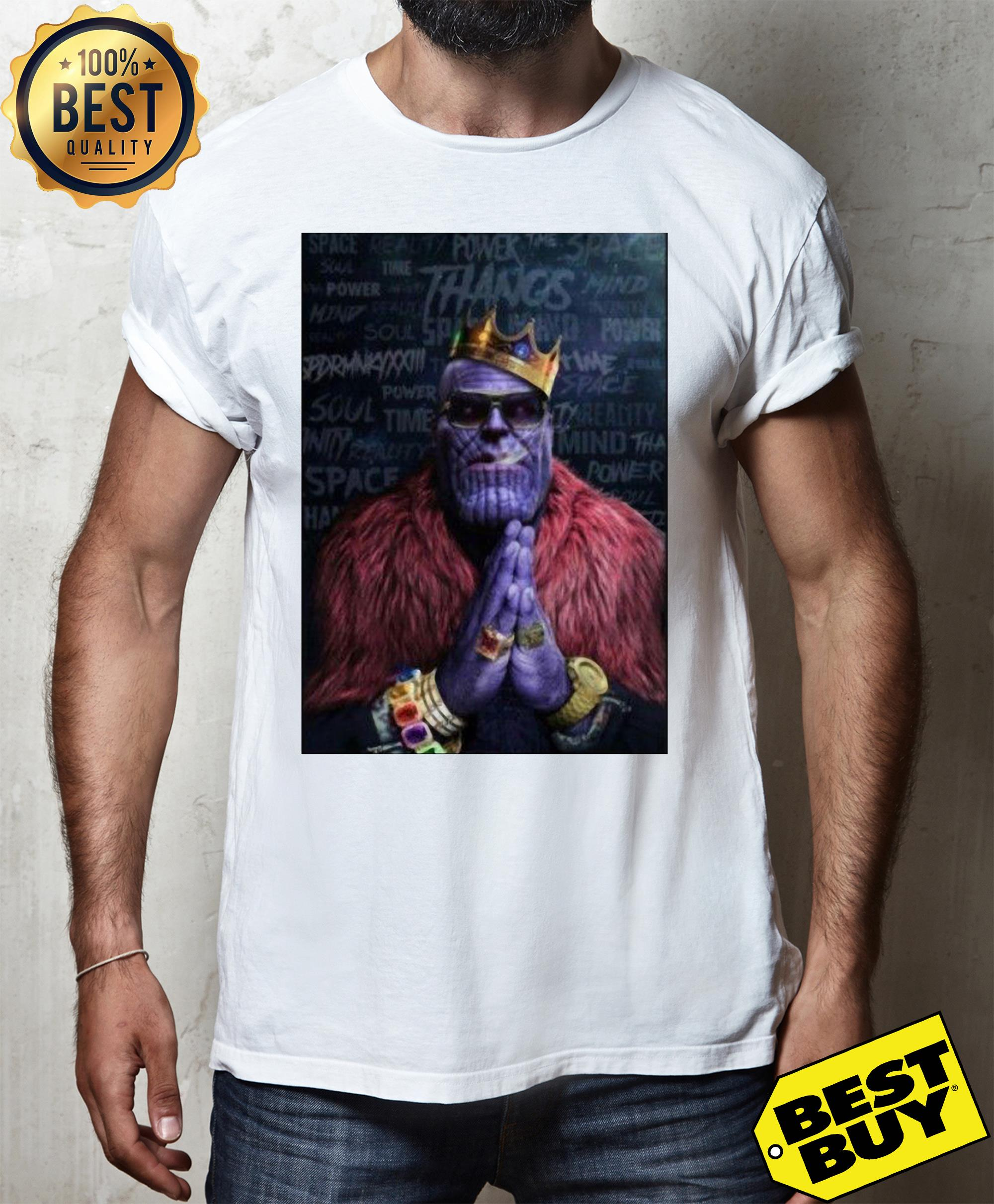 Infinity Was Thanos Avengers Rick Ross Parody v-neck