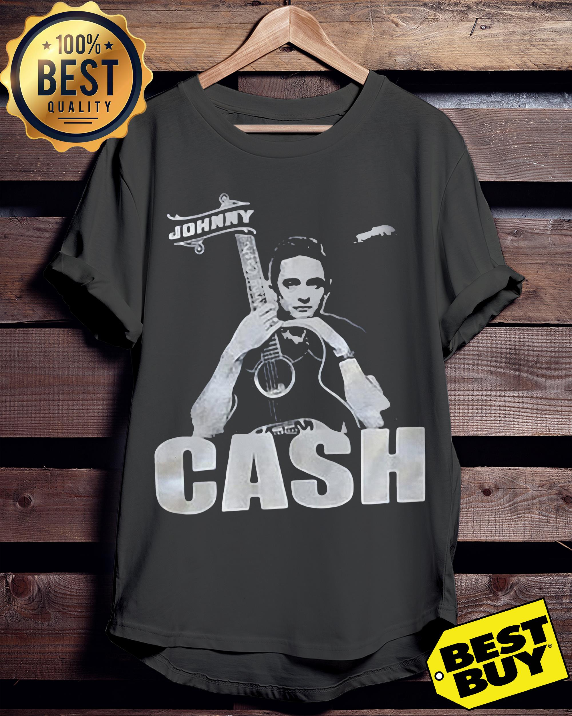 Johnny Cash's Family 'Sickened' to See Neo-Nazi Wearing His ladies tee