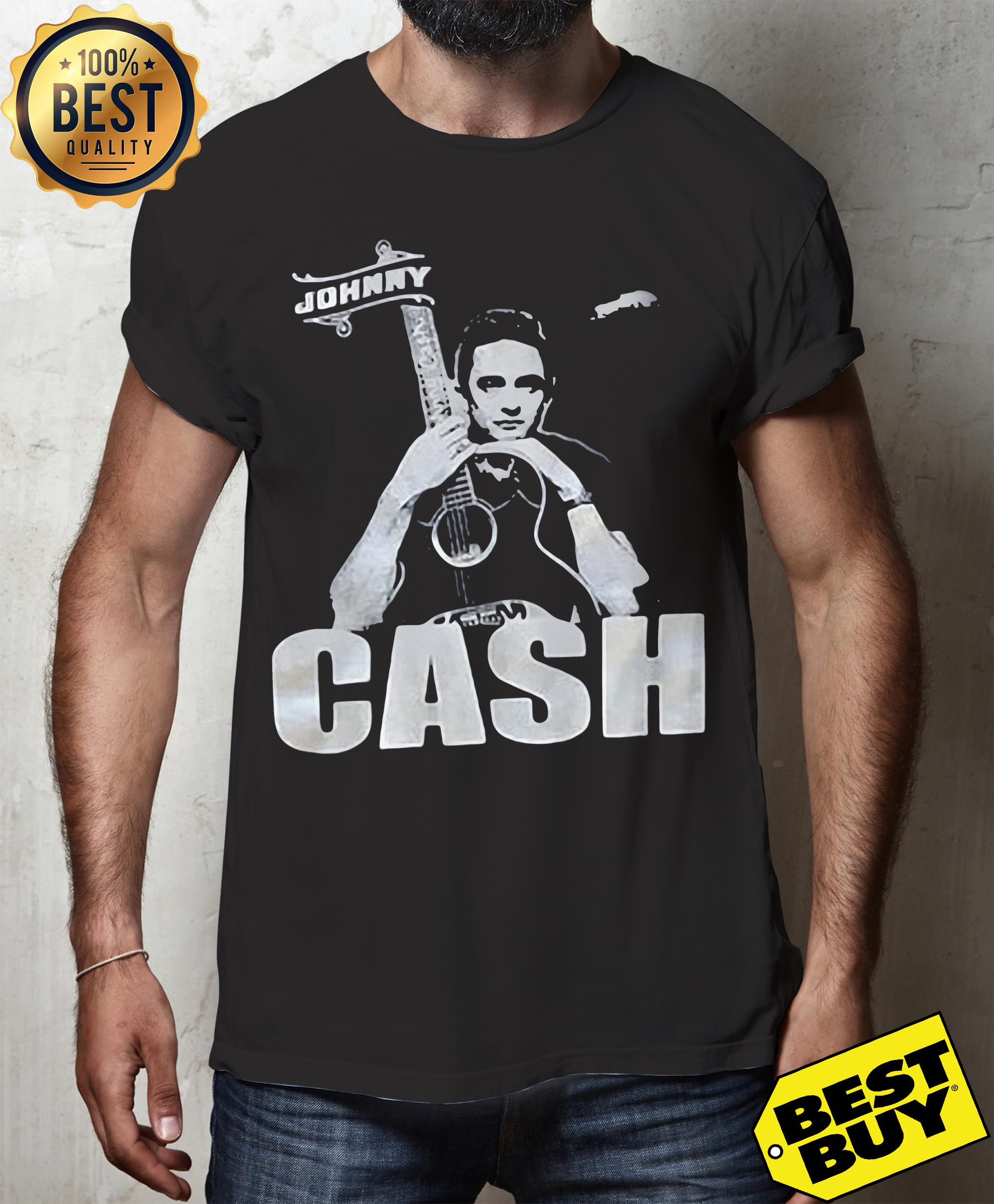 Johnny Cash's Family 'Sickened' to See Neo-Nazi Wearing His v-neck