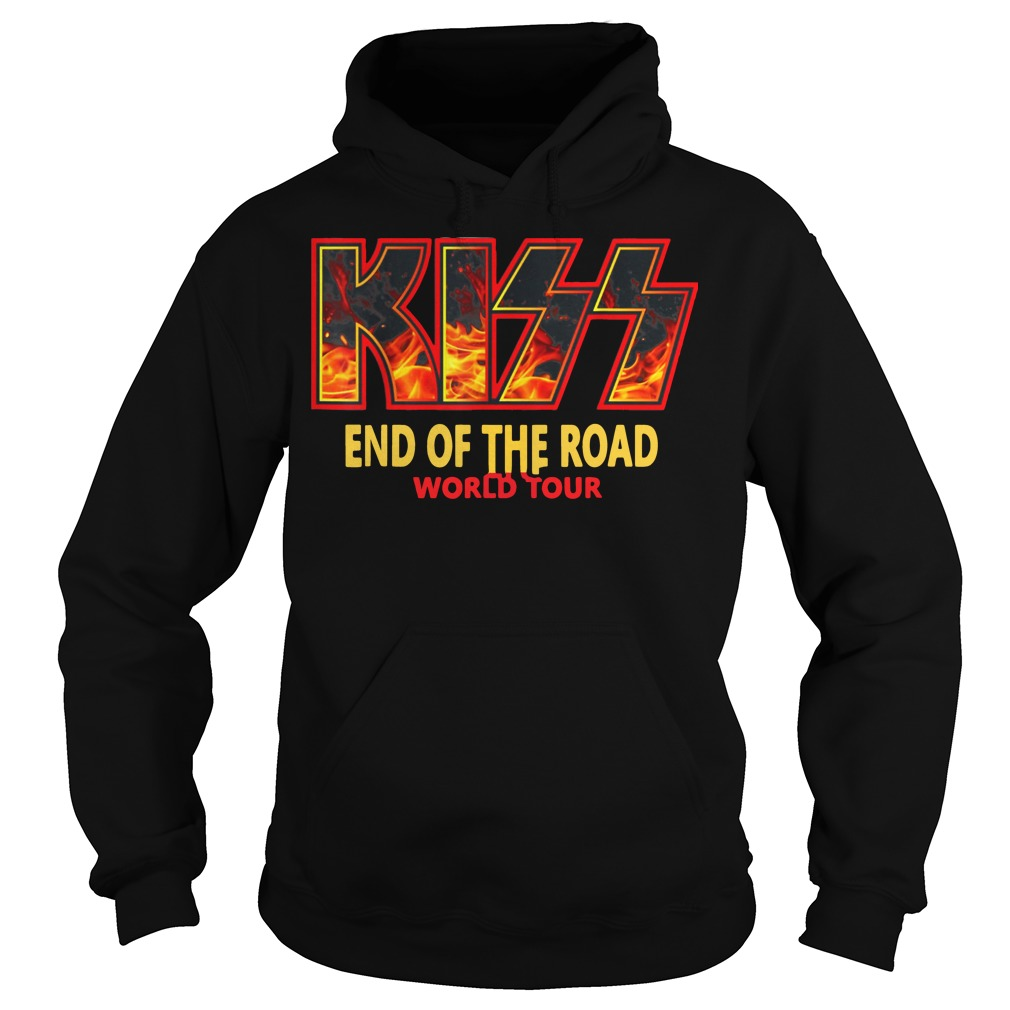"""Kiss """"End of the Road"""" Farewell Tour Dates 2019 hoodie"""