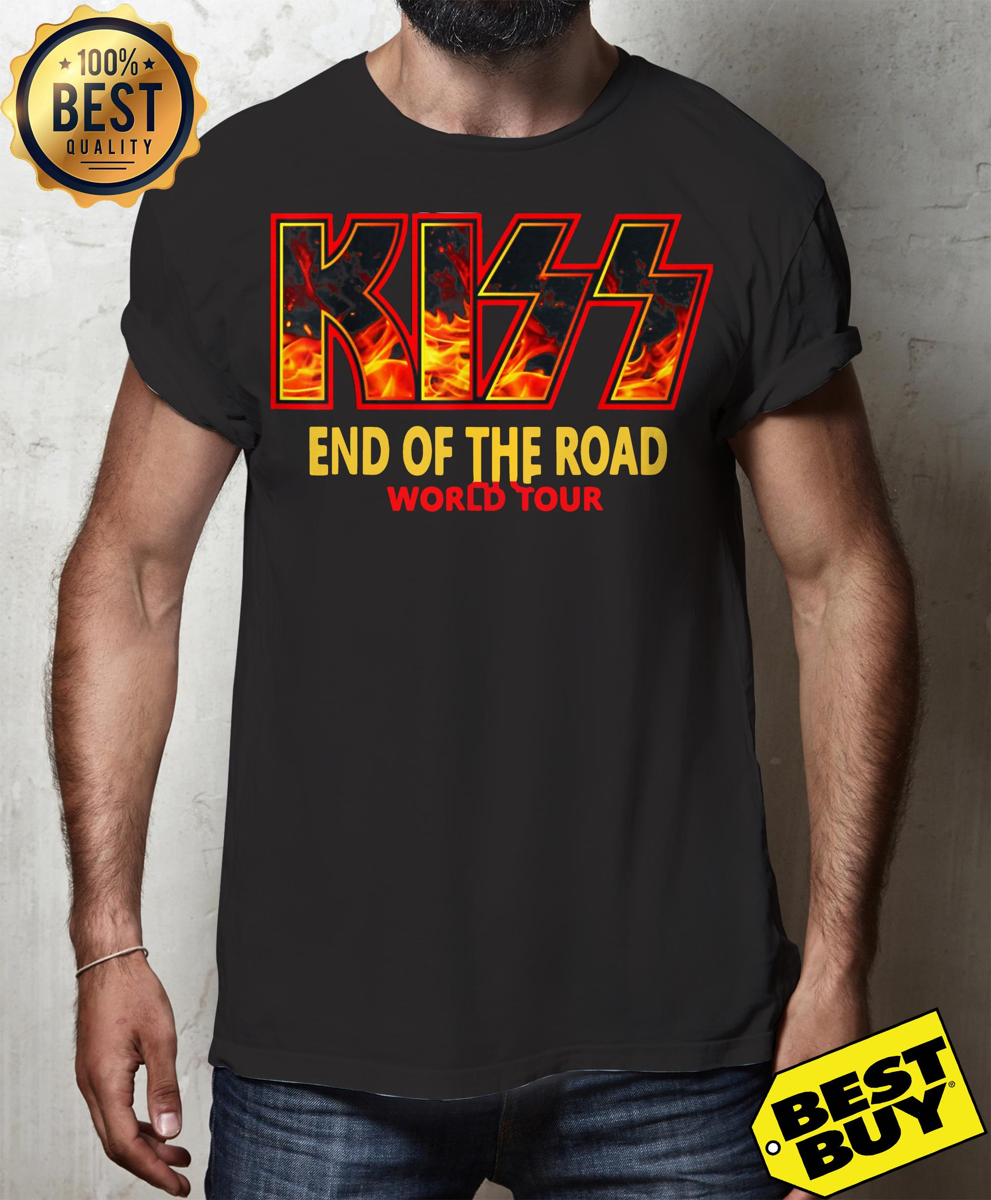 """Kiss """"End of the Road"""" Farewell Tour Dates 2019 tank top"""