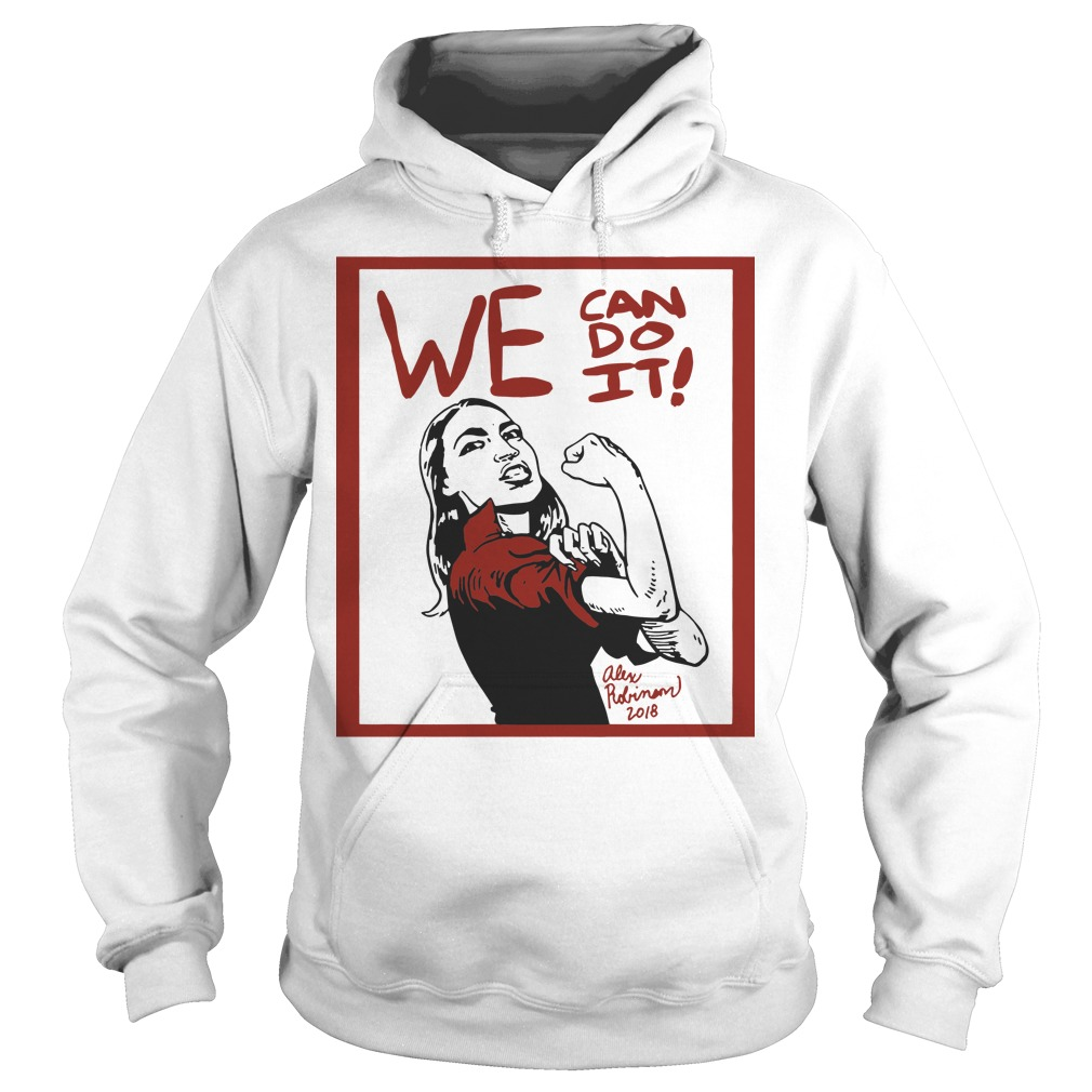 Official AOC we can do it funny hoodie