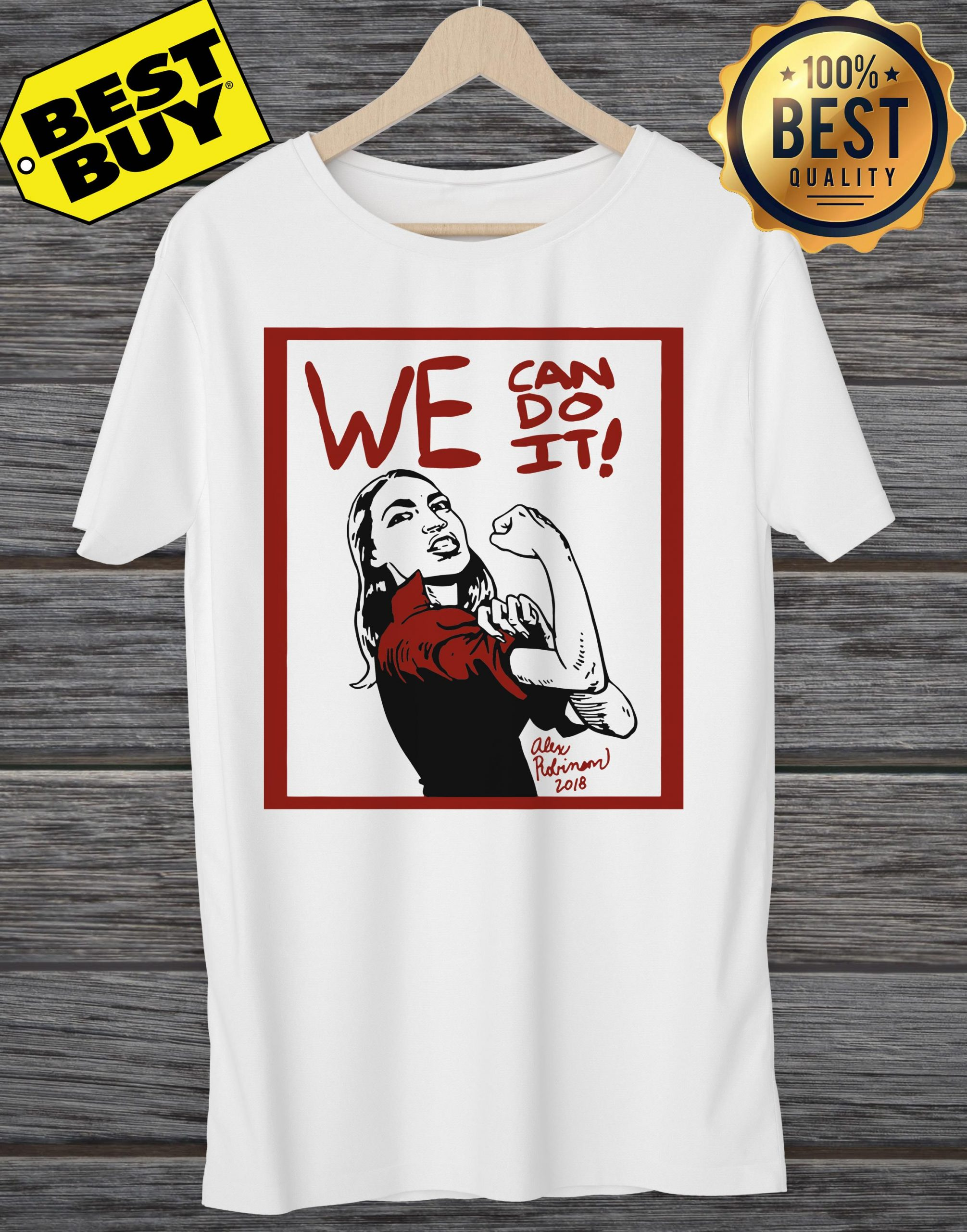 Official AOC we can do it funny ladies tee