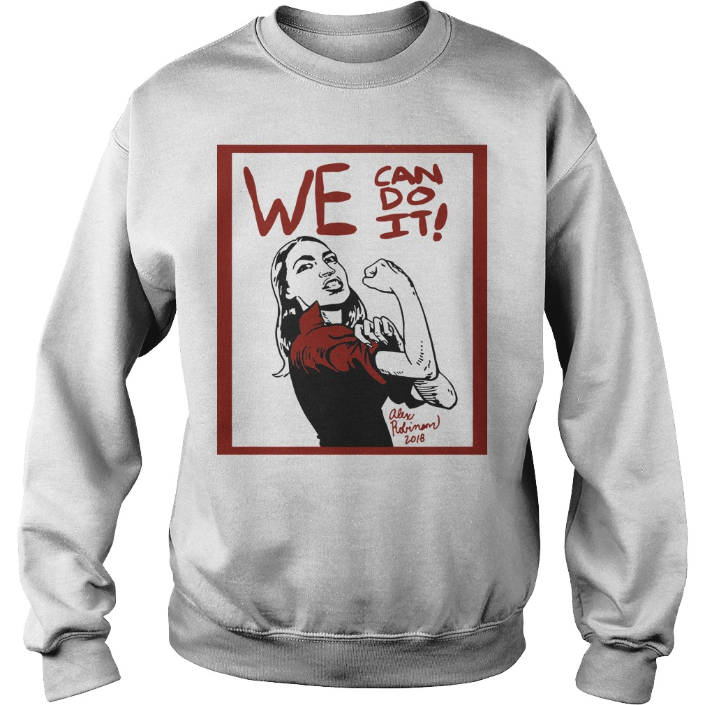 Official AOC we can do it funny sweatshirt