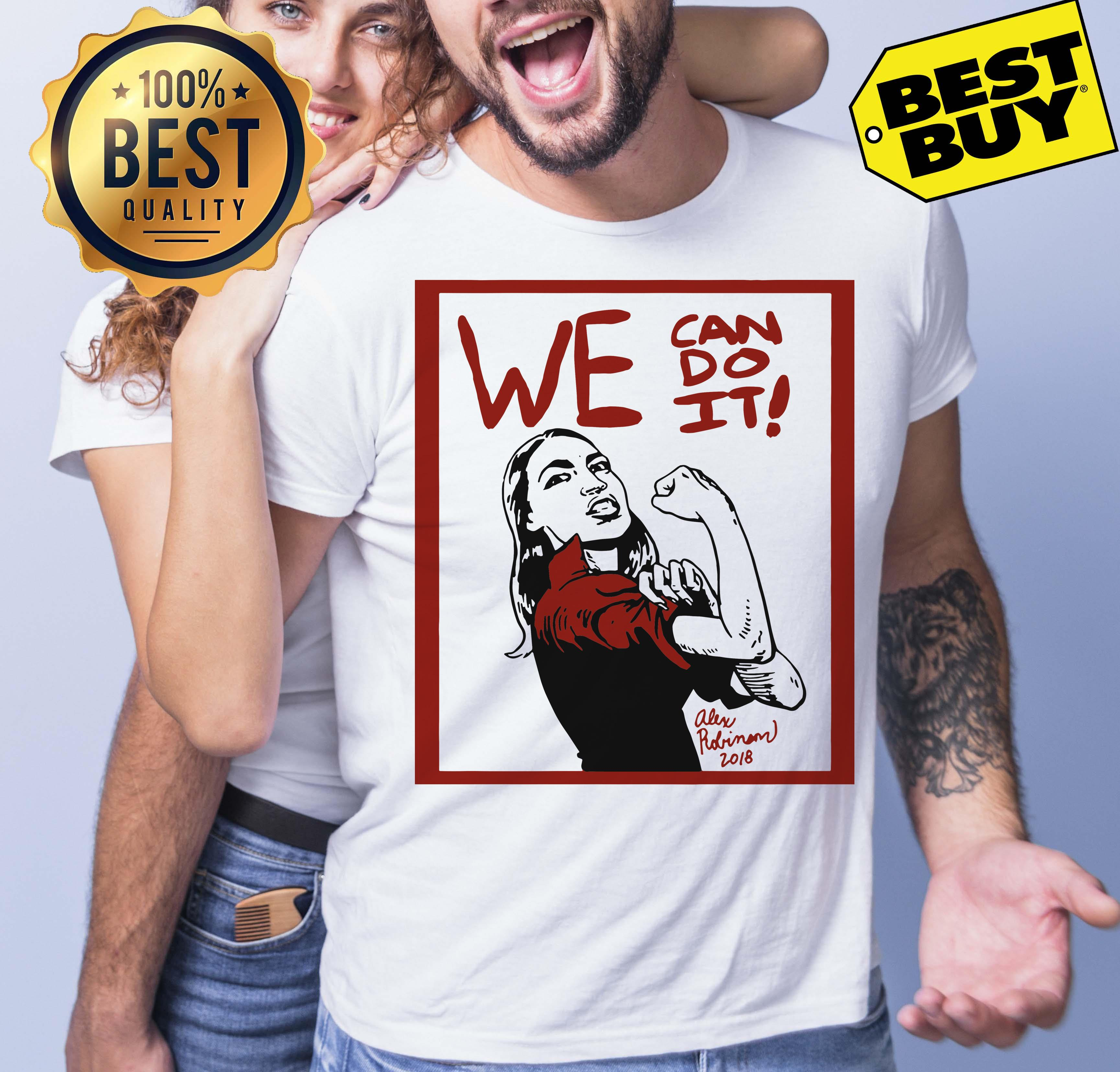 Official AOC we can do it funny tank top