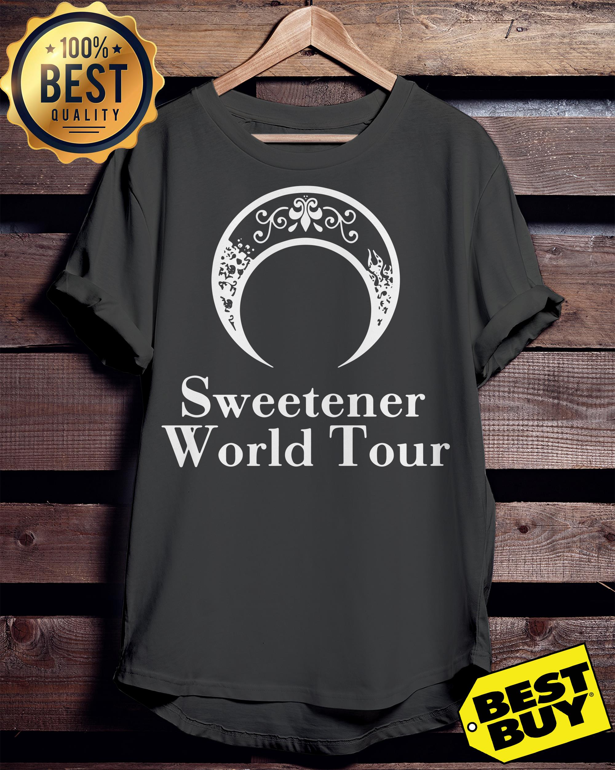 Official Ariana Grande Sweetener World Tour ladies tee