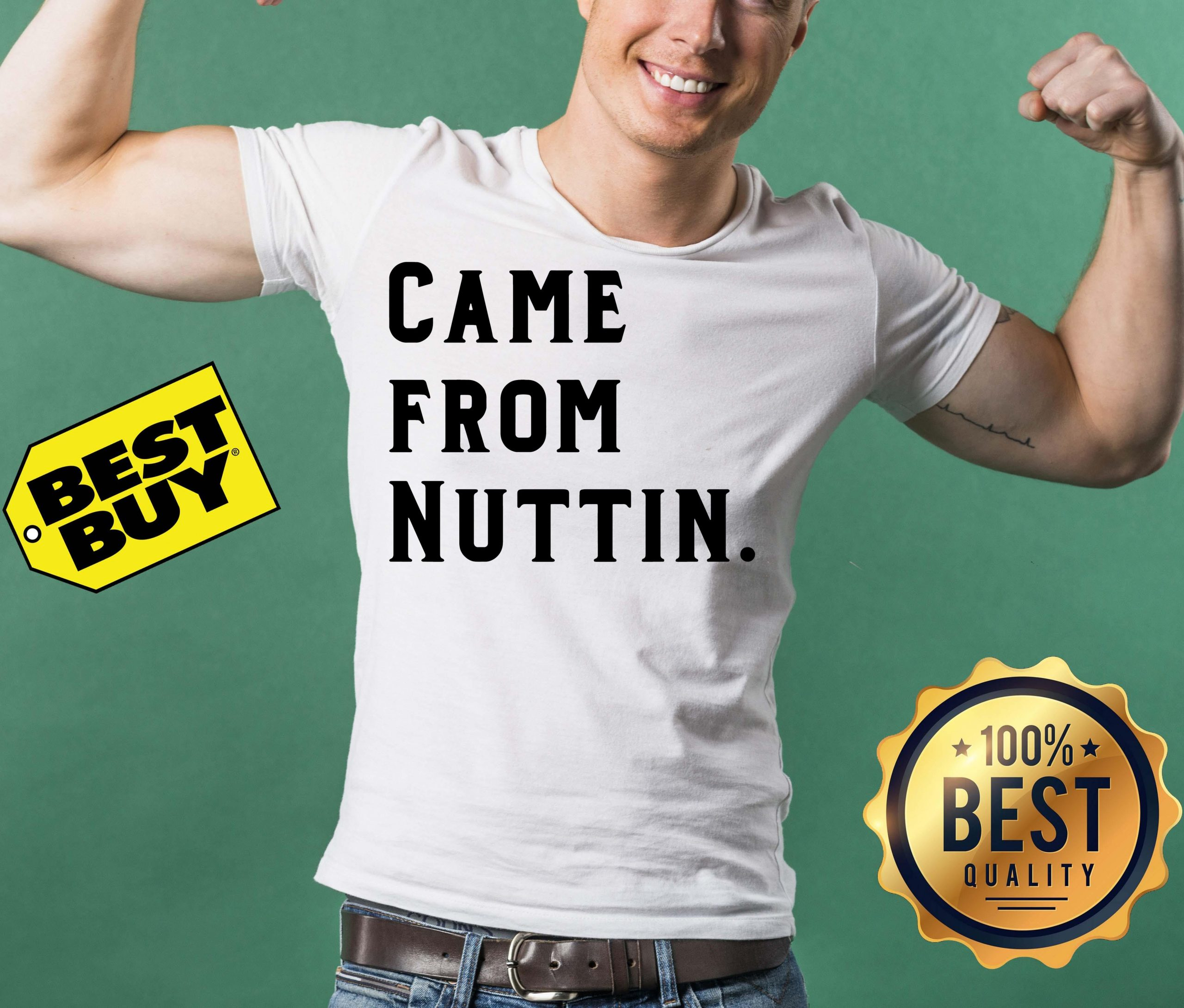 Official Came From Nuttin funny v-neck