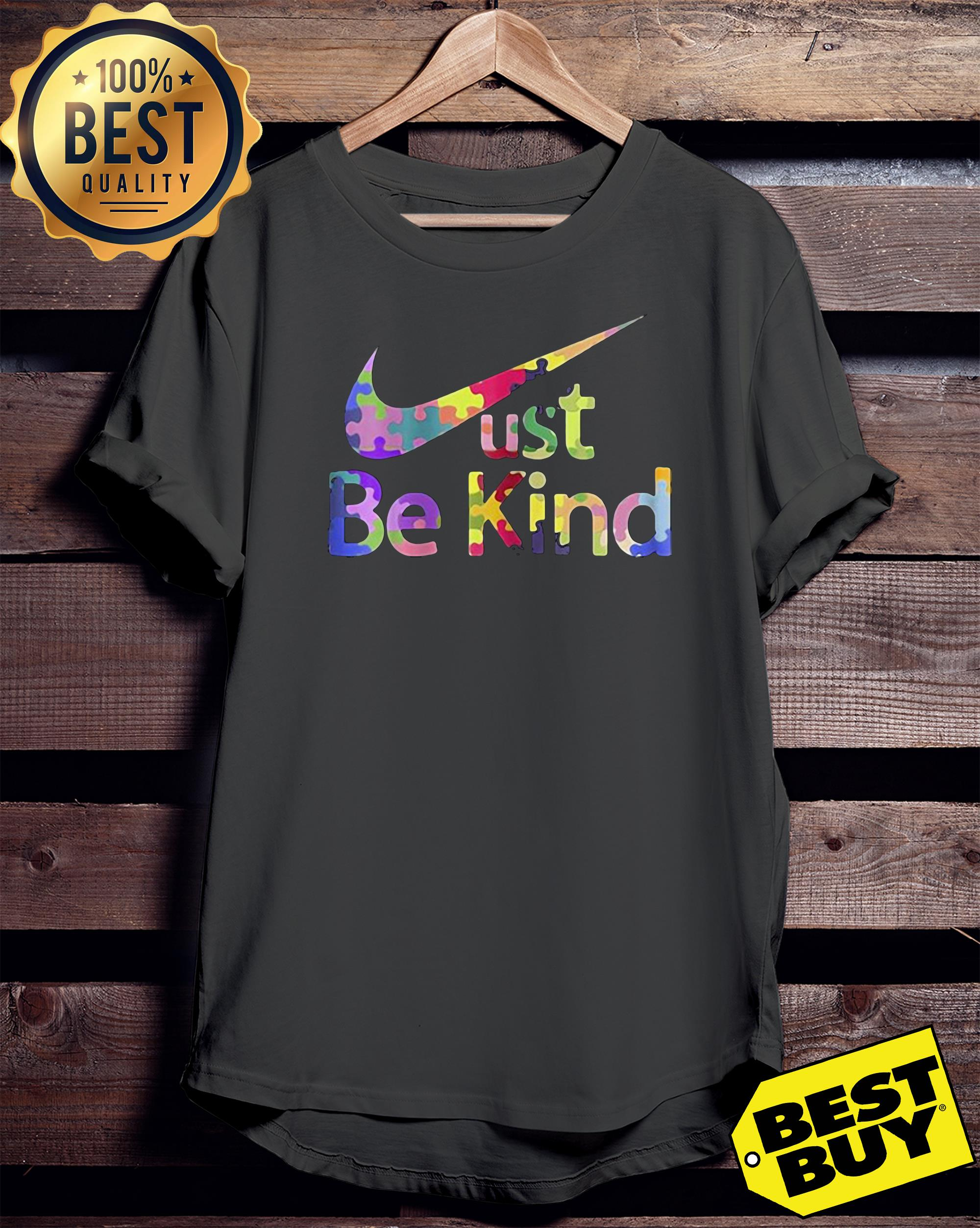 Official Just be kind Nike tank top