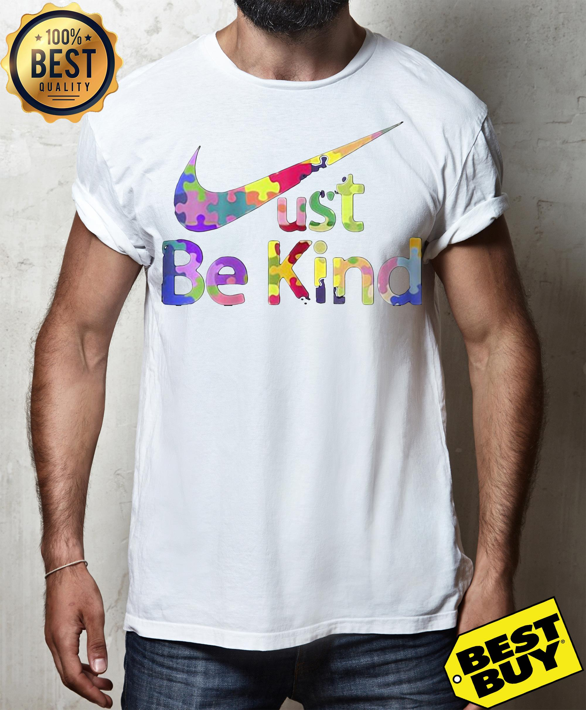 Official Just be kind Nike v-neck