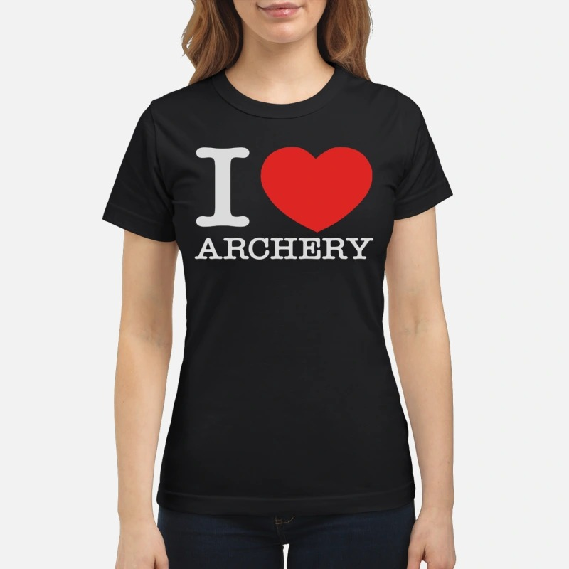 Official I love archery classic women