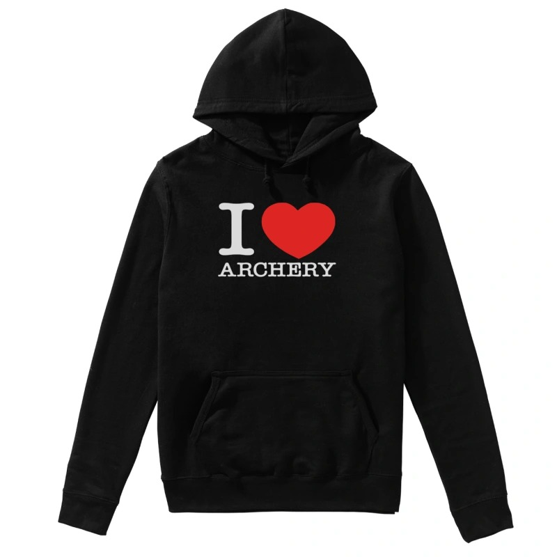 Official I love archery hoodie