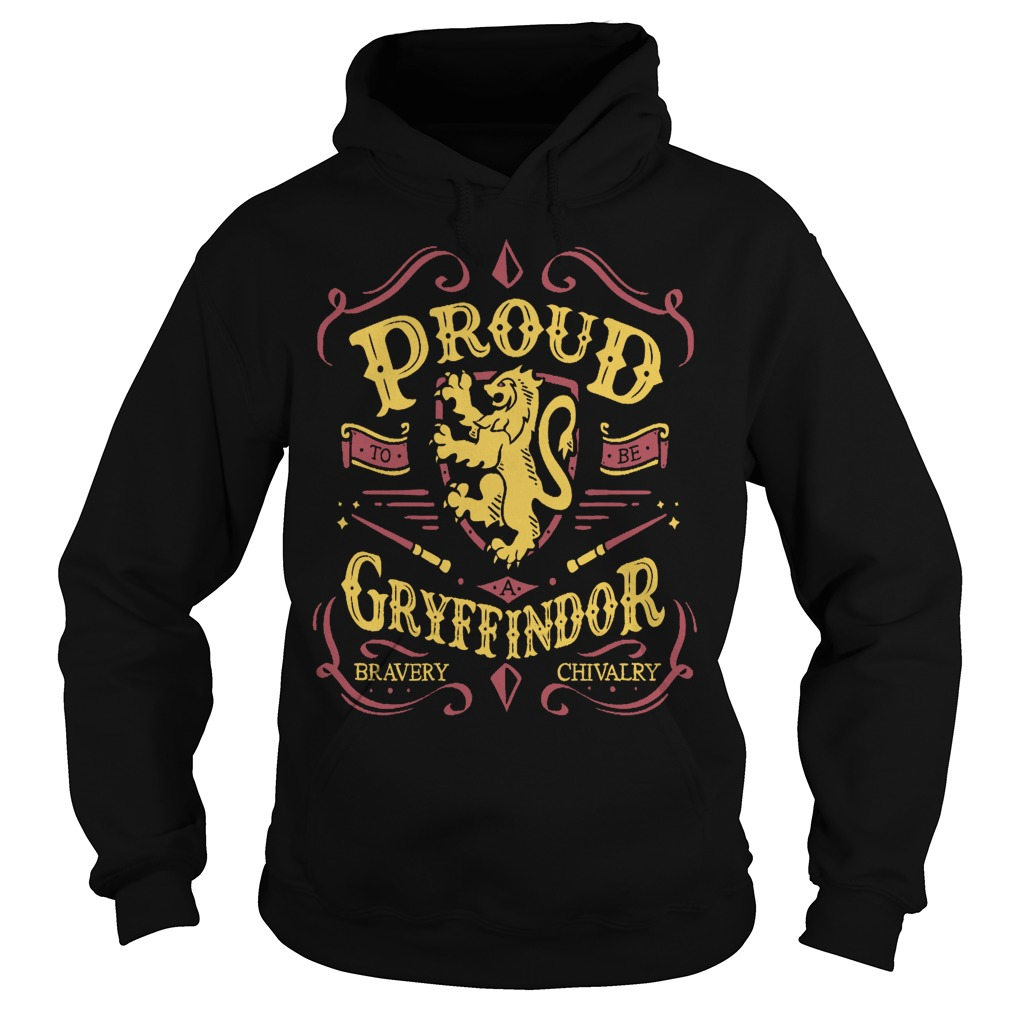 Proud to be a Gryffindor funny hoodie