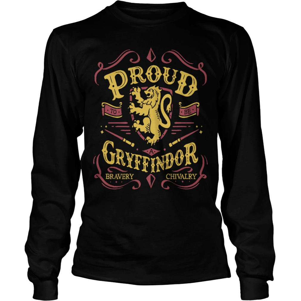 Proud to be a Gryffindor funny long sleeve