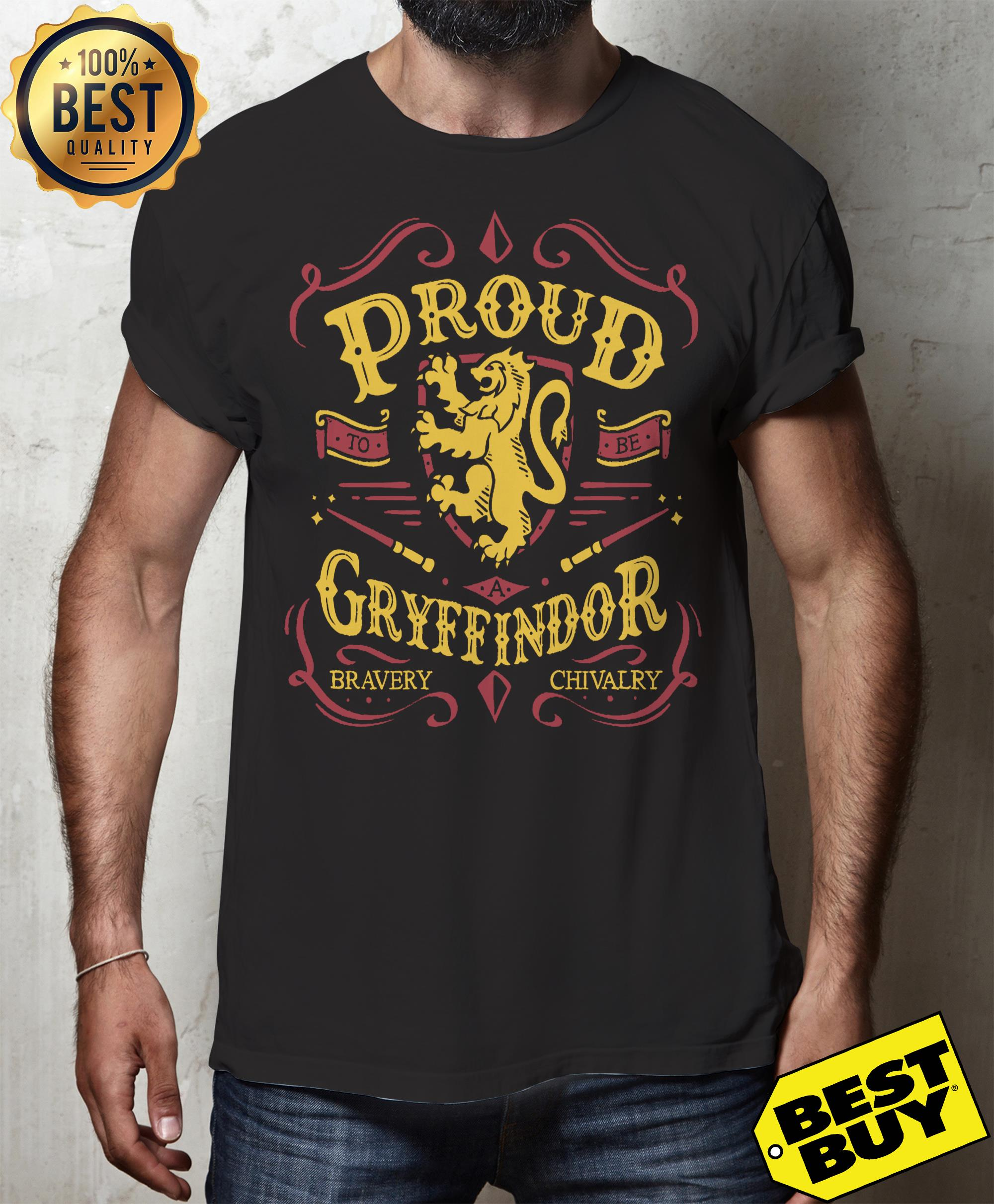 Proud to be a Gryffindor funny shirt