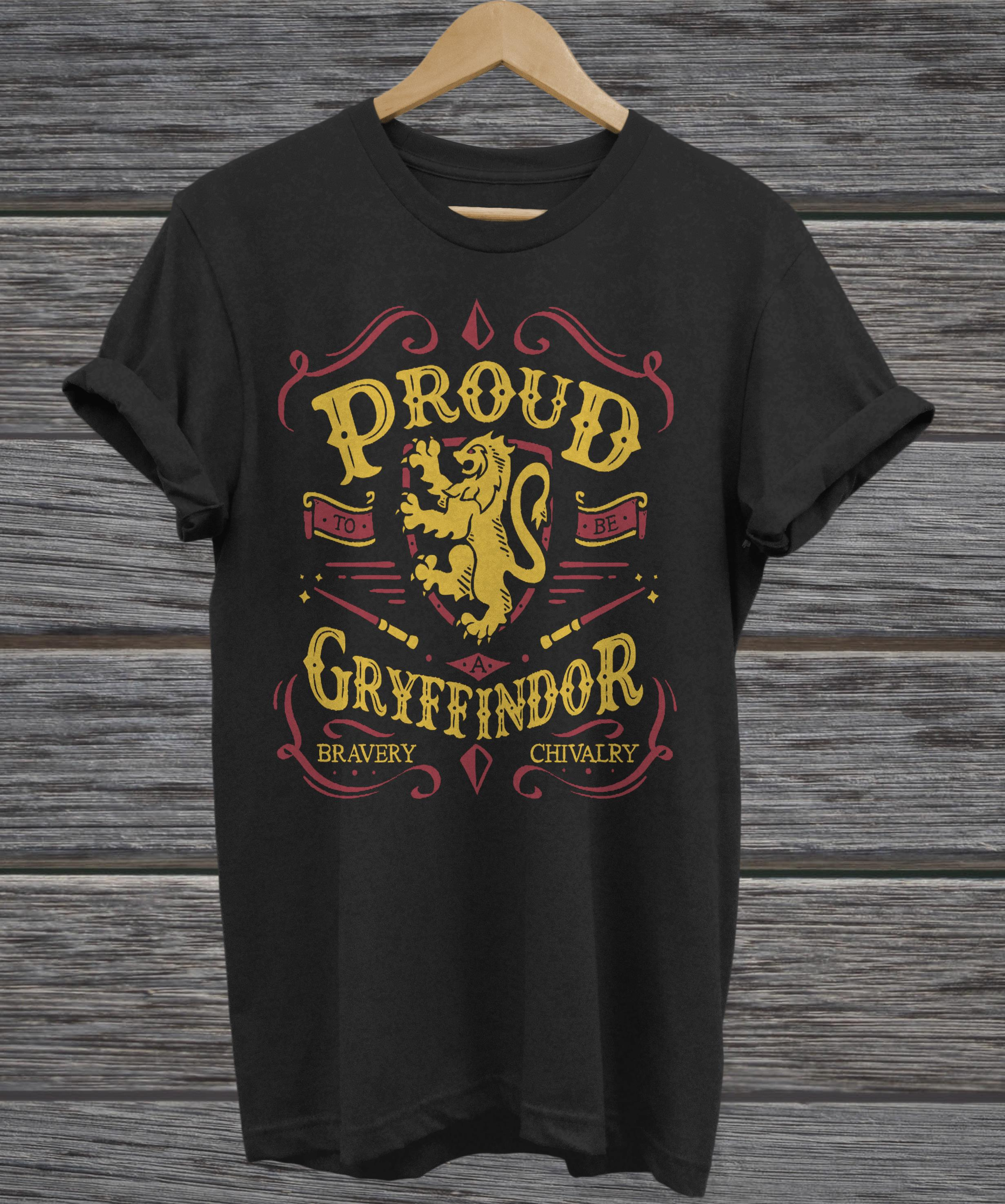 Proud to be a Gryffindor funny tank top