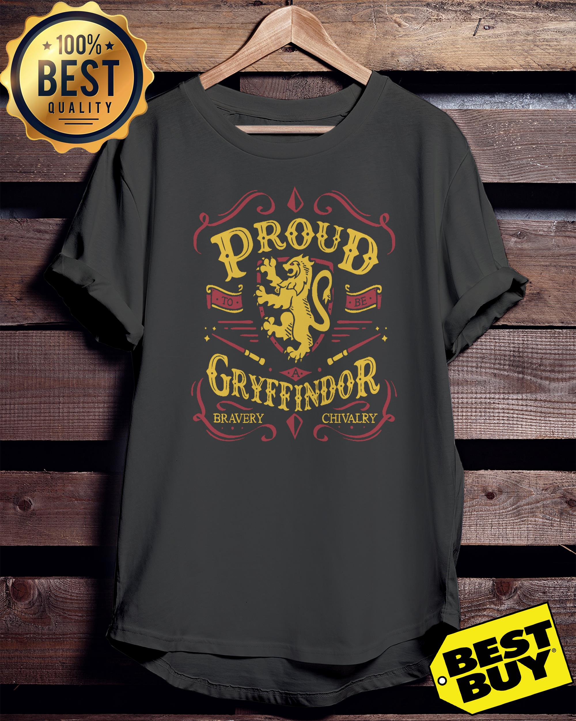 Proud to be a Gryffindor funny v-neck