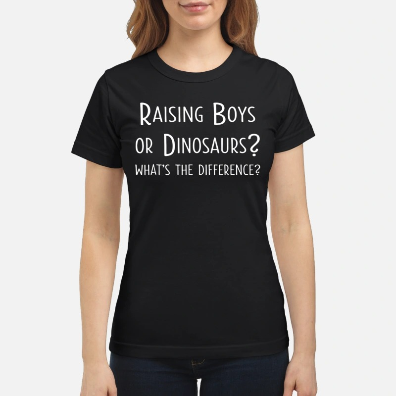 Raising boys or dinosaurs what's the difference classic women