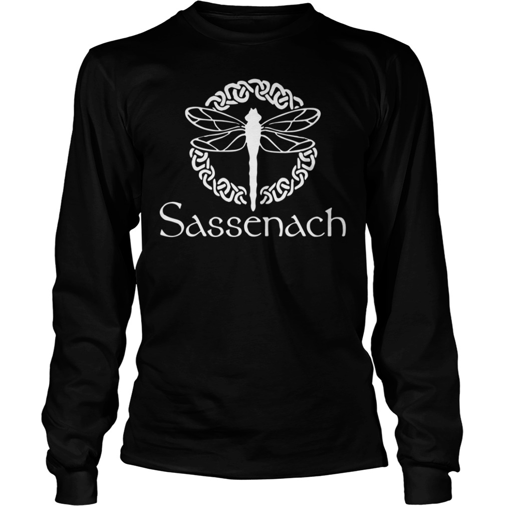 Sassenach Dragonfly Outlander Amber long sleeve