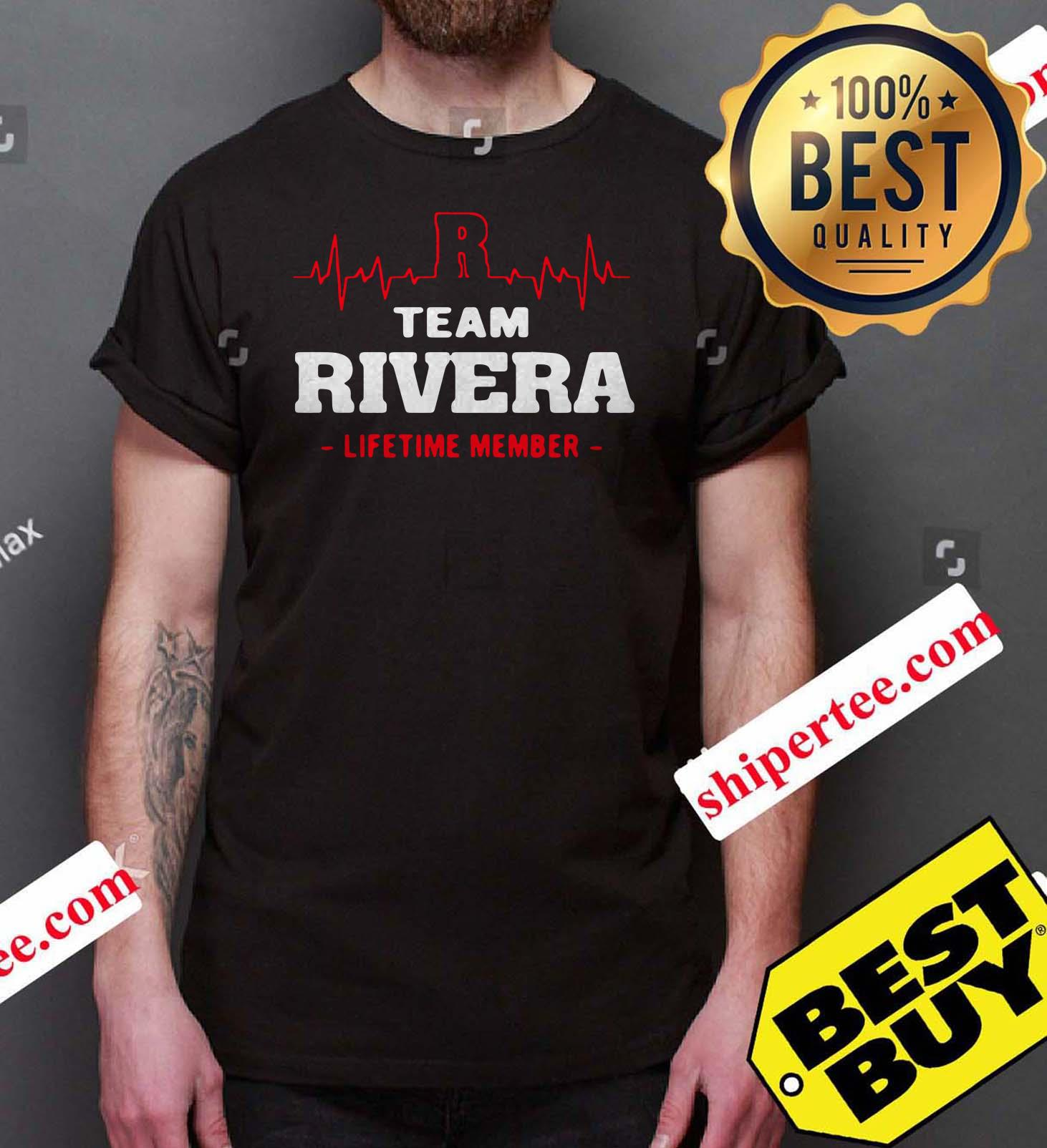 Team Rivera lifetime member tank top