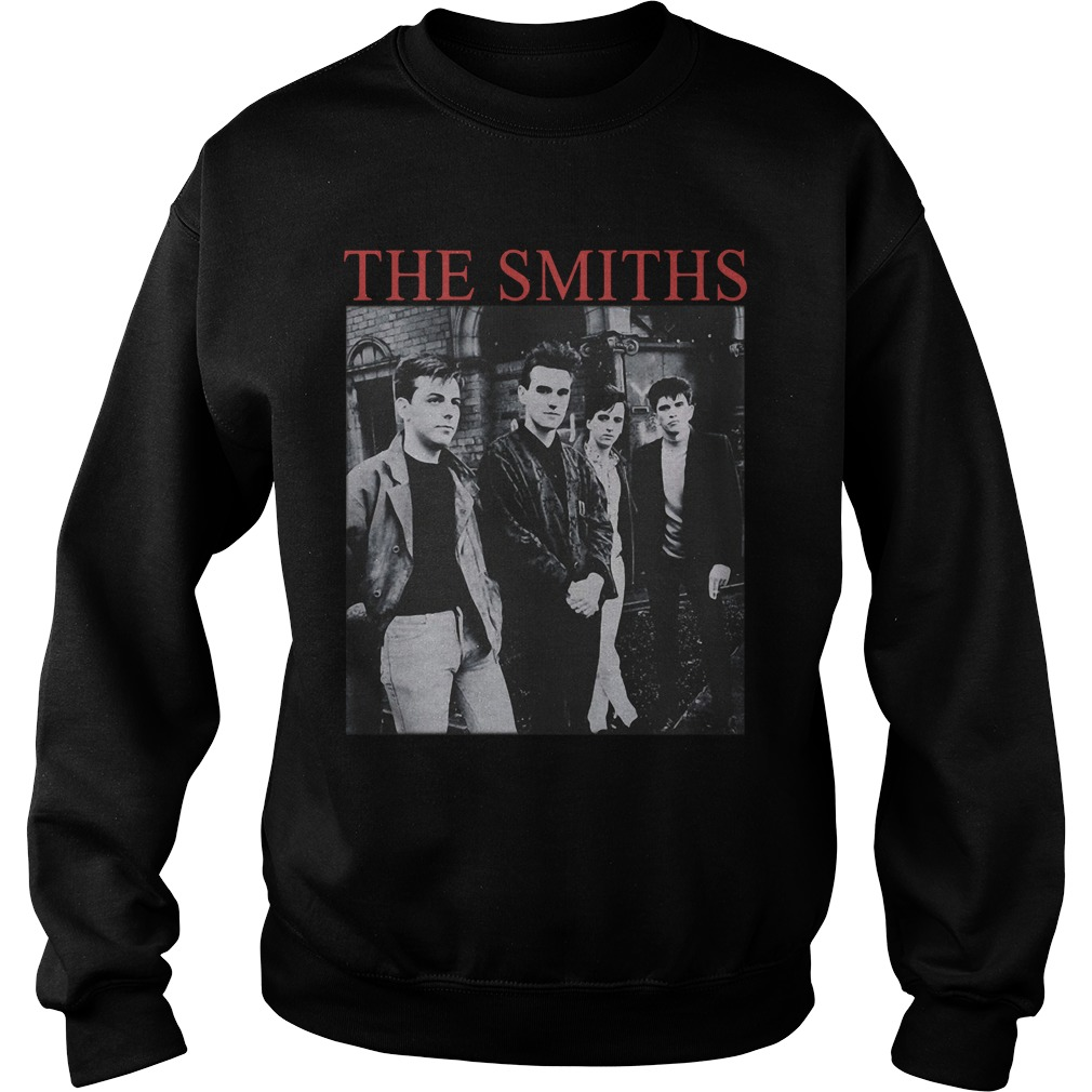 "The Smiths ""The Queen Is Dead"" funny sweatshirt"