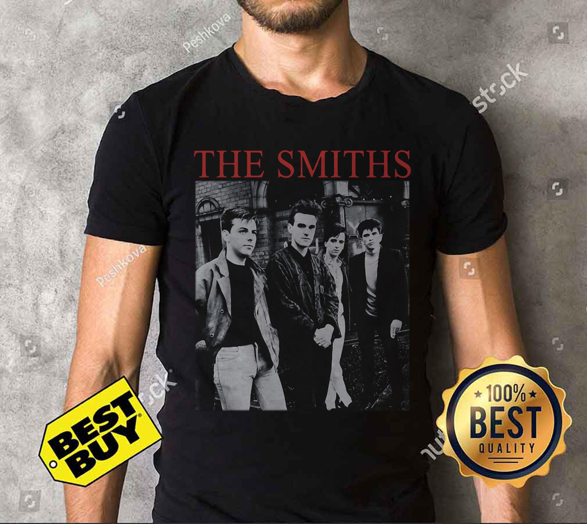 "The Smiths ""The Queen Is Dead"" funny tank top"